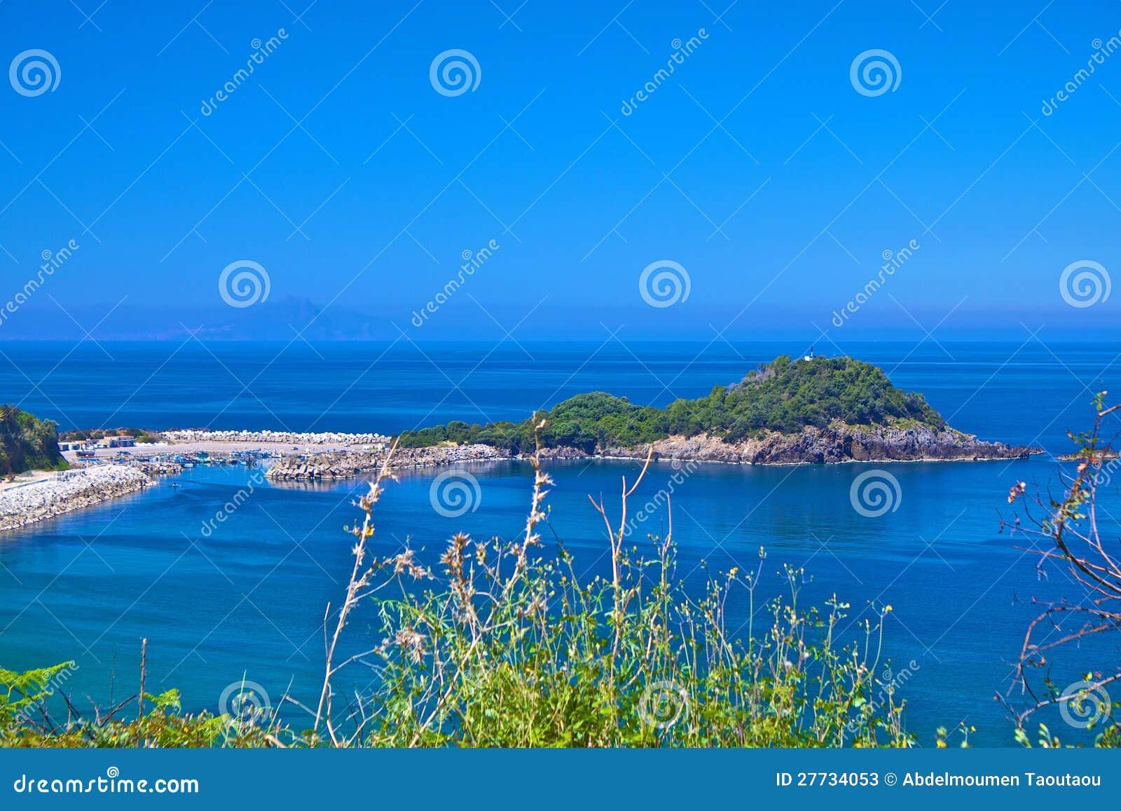 Kanal und Insel