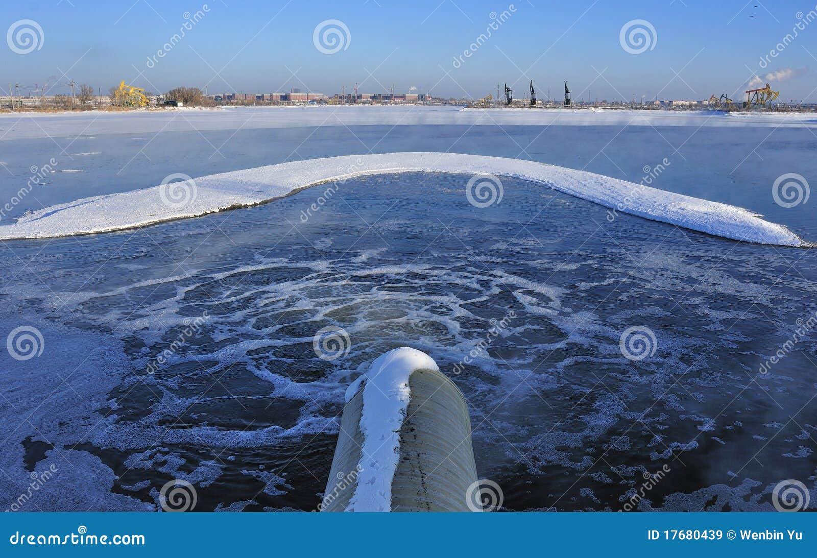 Kanalizacyjny rozładowanie