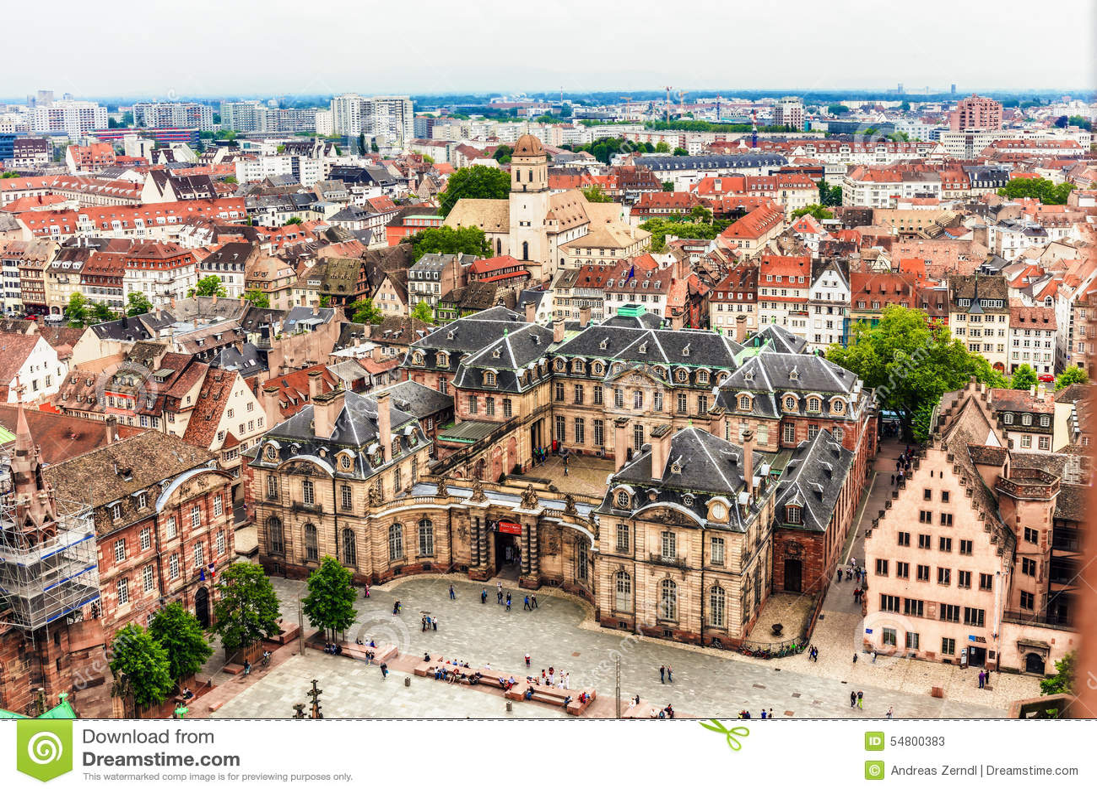 Kanalstadsstrasbourg sikt