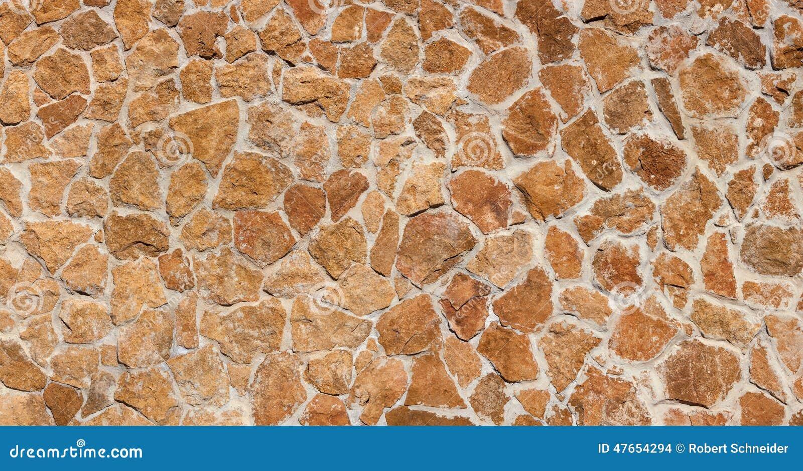 Kanarische Natursteinwand Browns Stockfoto - Bild: 47654294
