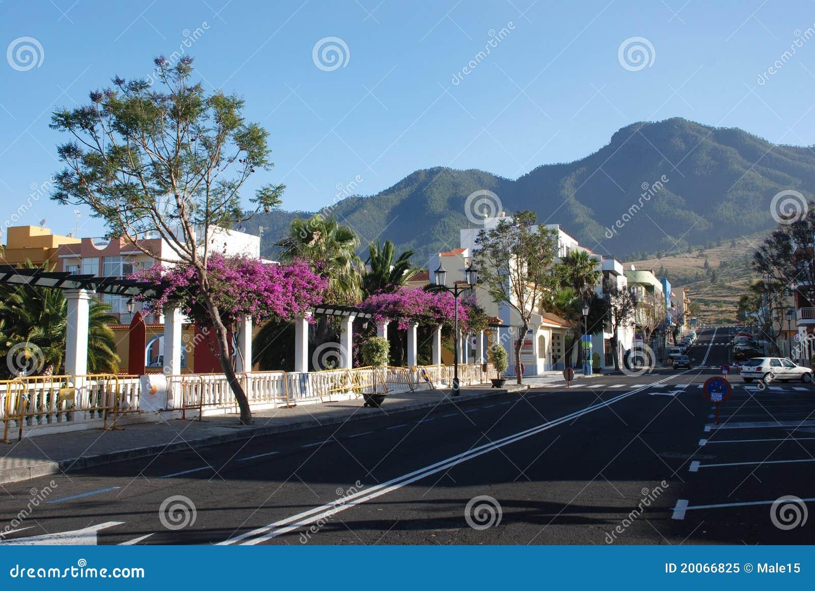 Kanarowy el losu angeles palma paso miasteczko