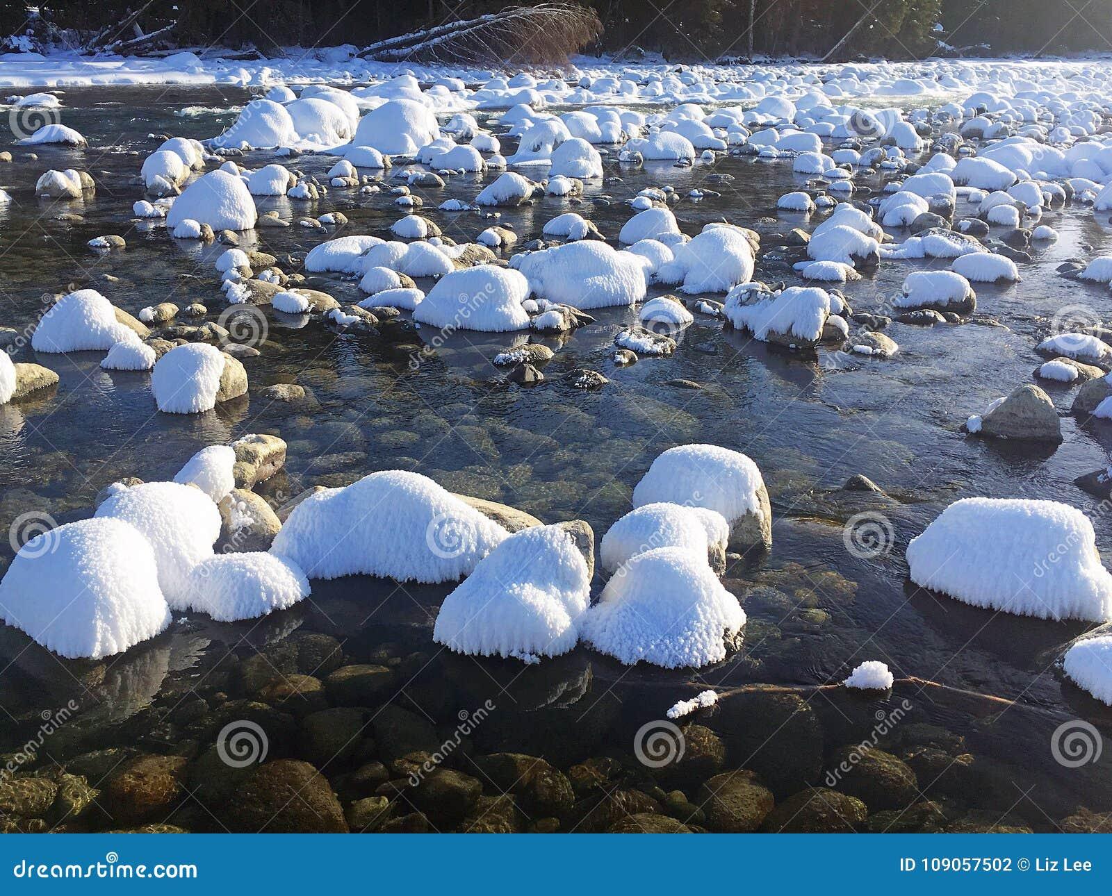 Kanas Lake in Winter