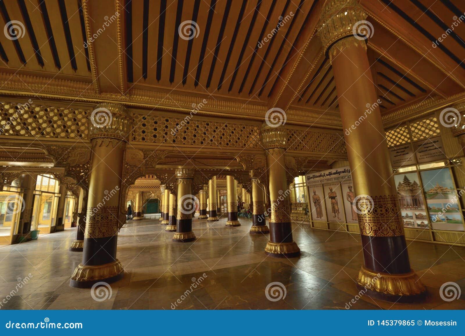 Kanbawzathadi宫殿在Bago