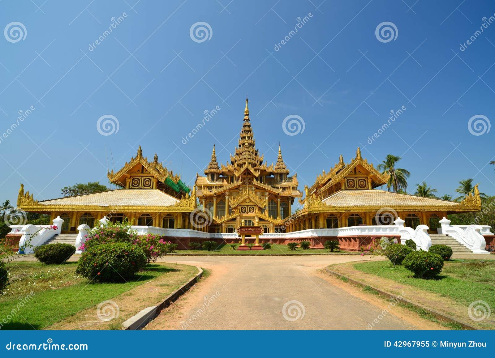 Bago Myanmar  city photo : Kanbawzathadi, Bago, Myanmar Stock Foto Afbeelding: 42967955