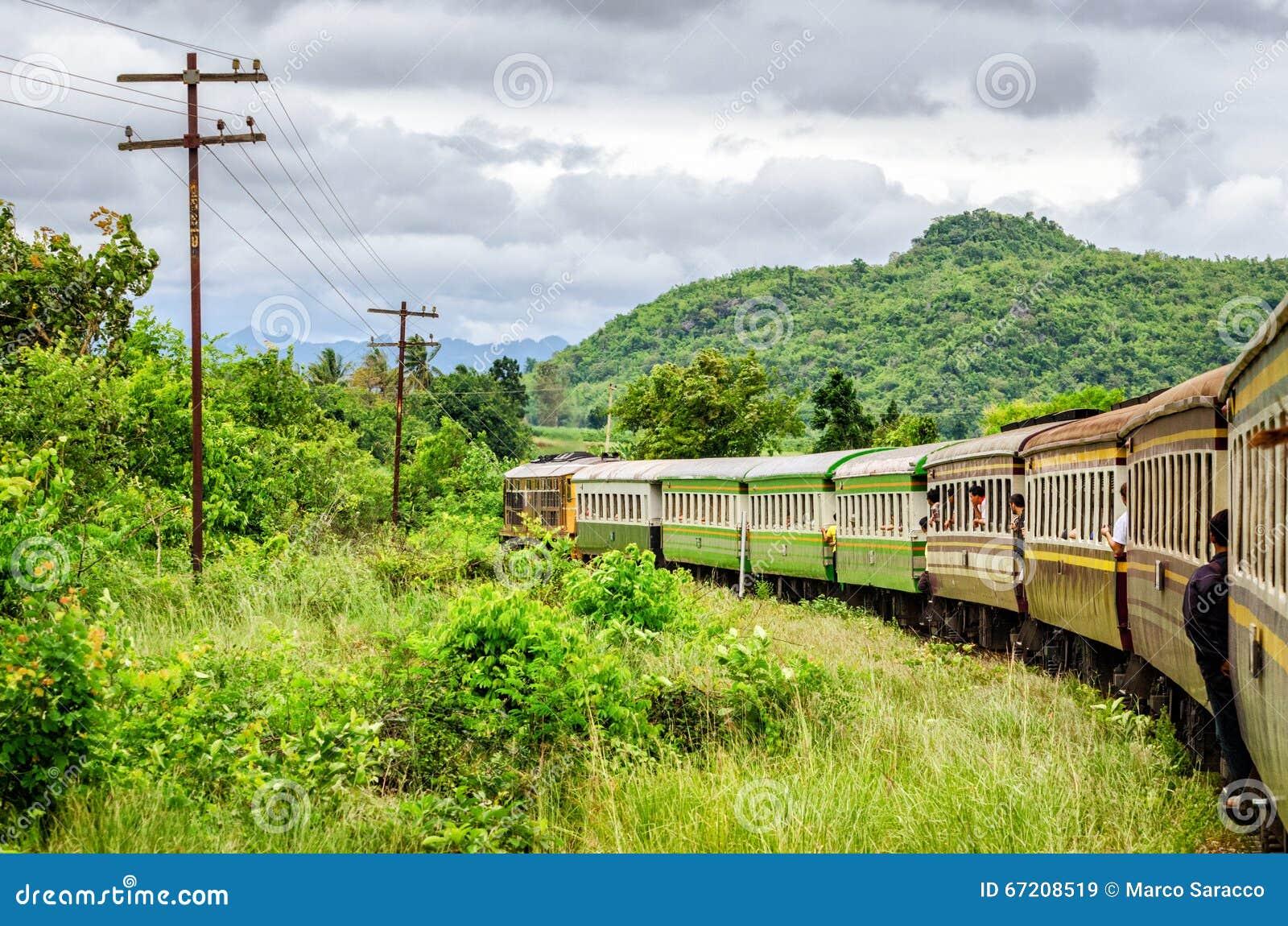 Kanchanaburi (Tailandia) el ferrocarril de la muerte