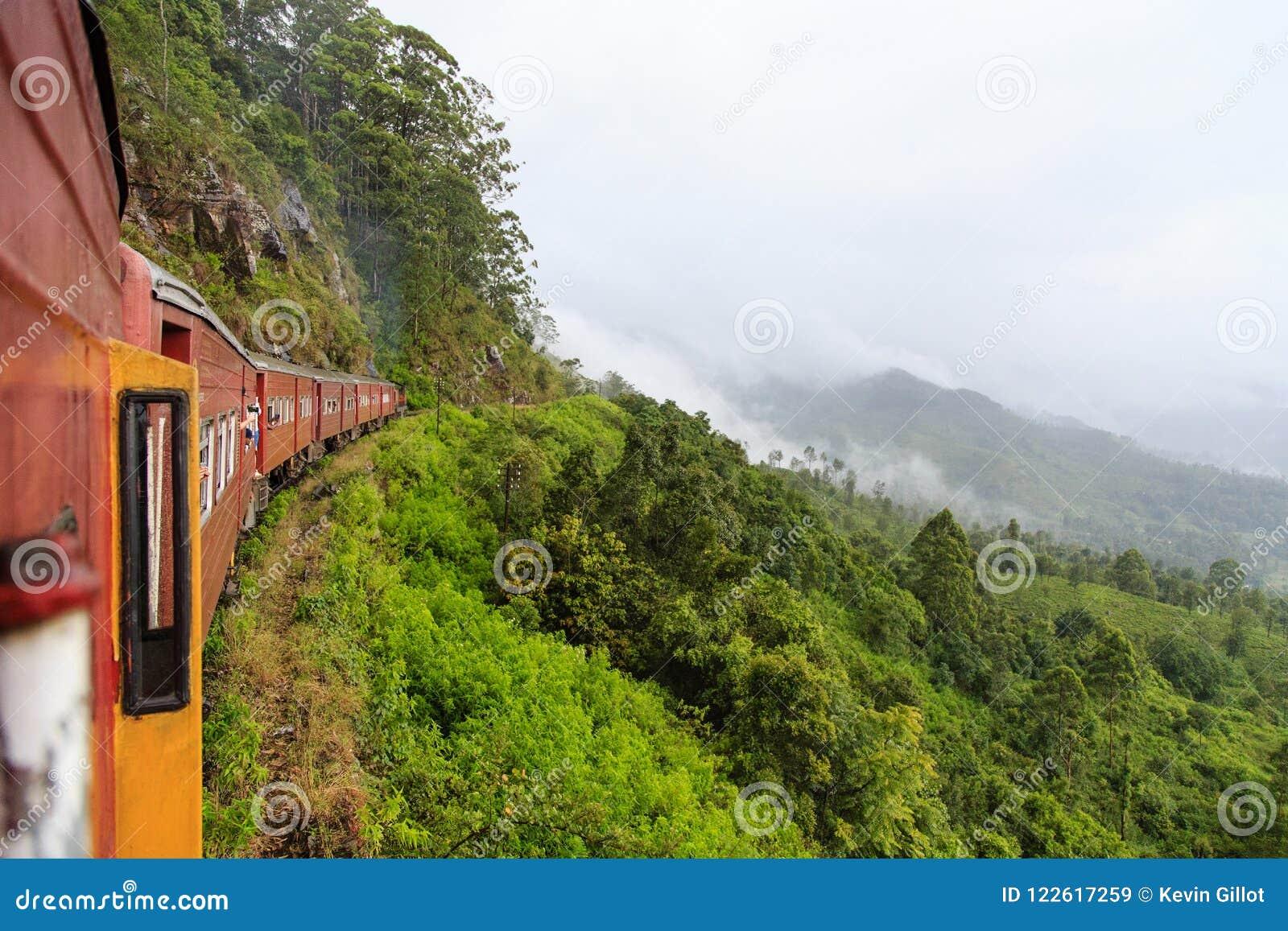 Kandy à viagem de trem de Ella - Sri Lanka