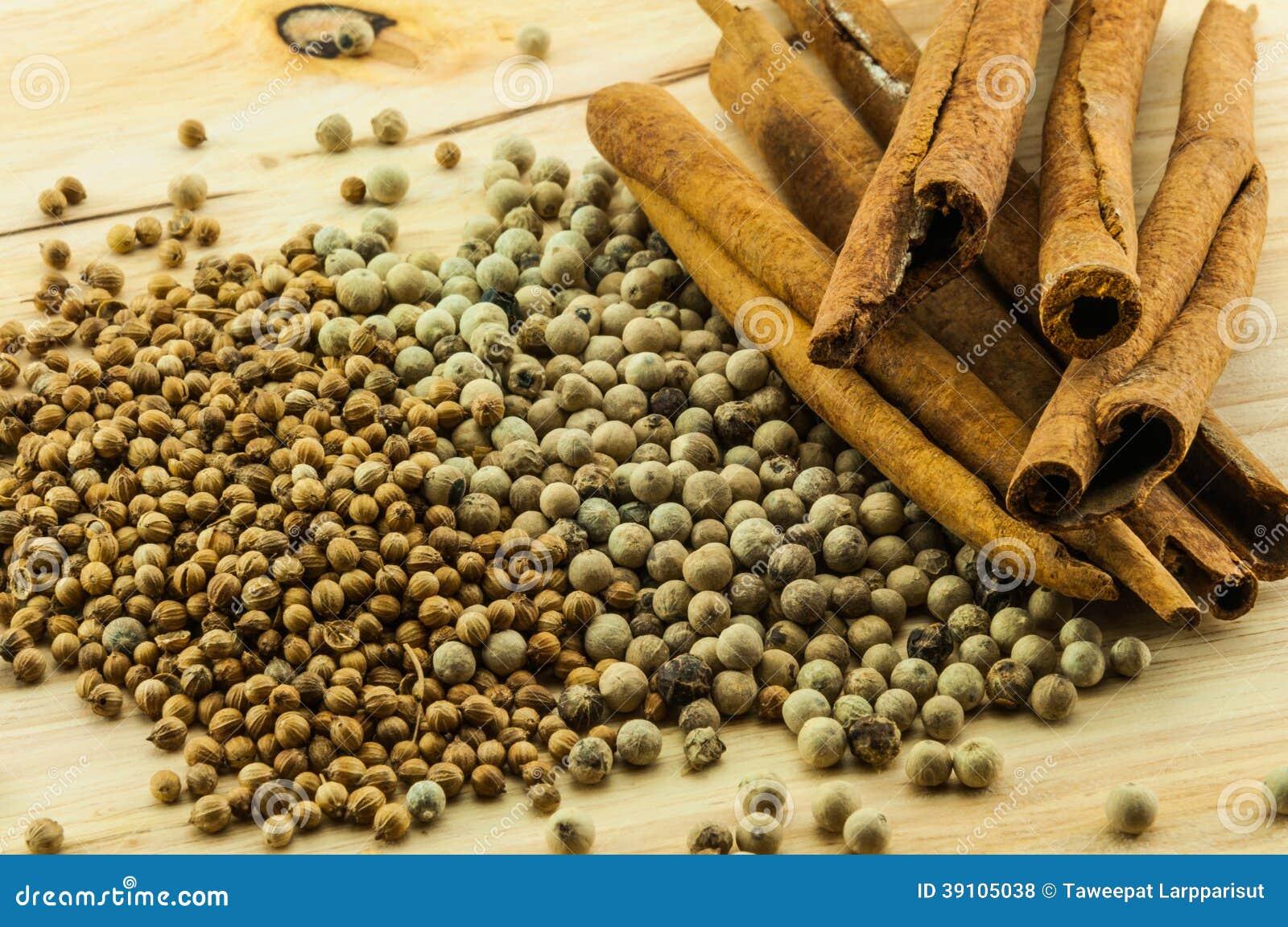 Kaneelbroodjes & peper