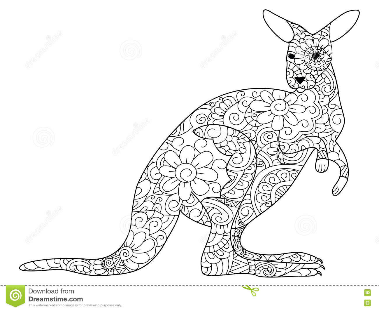 2017 07 31 coloring pages frozen coloring pages frozen 71 comments feed - Printable Coloring Pages Kangaroos Kangaroo Coloring Book Vector For Adults