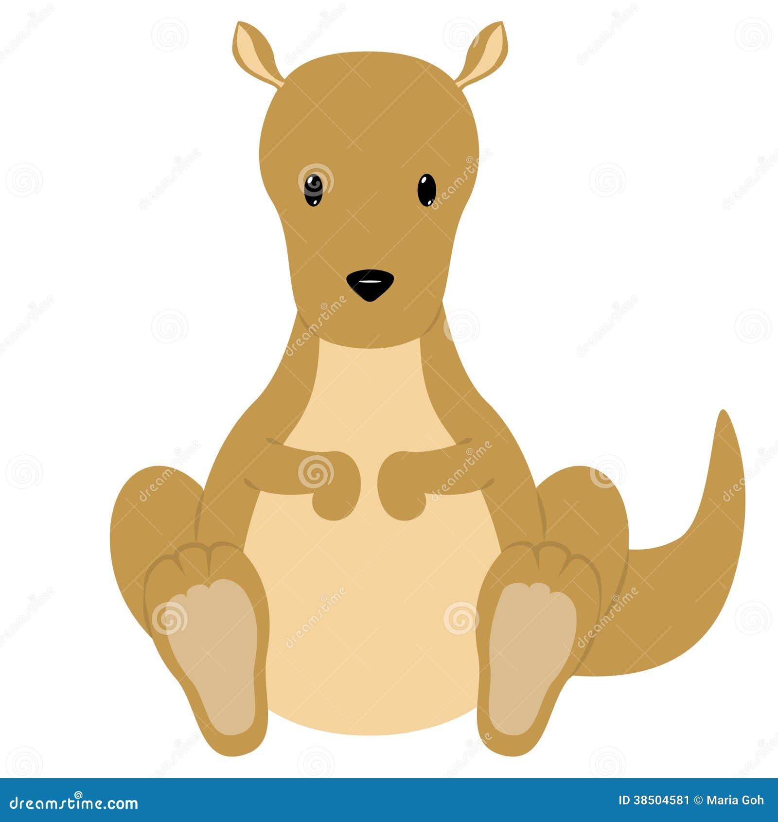 kangaroo stock image   image 38504581