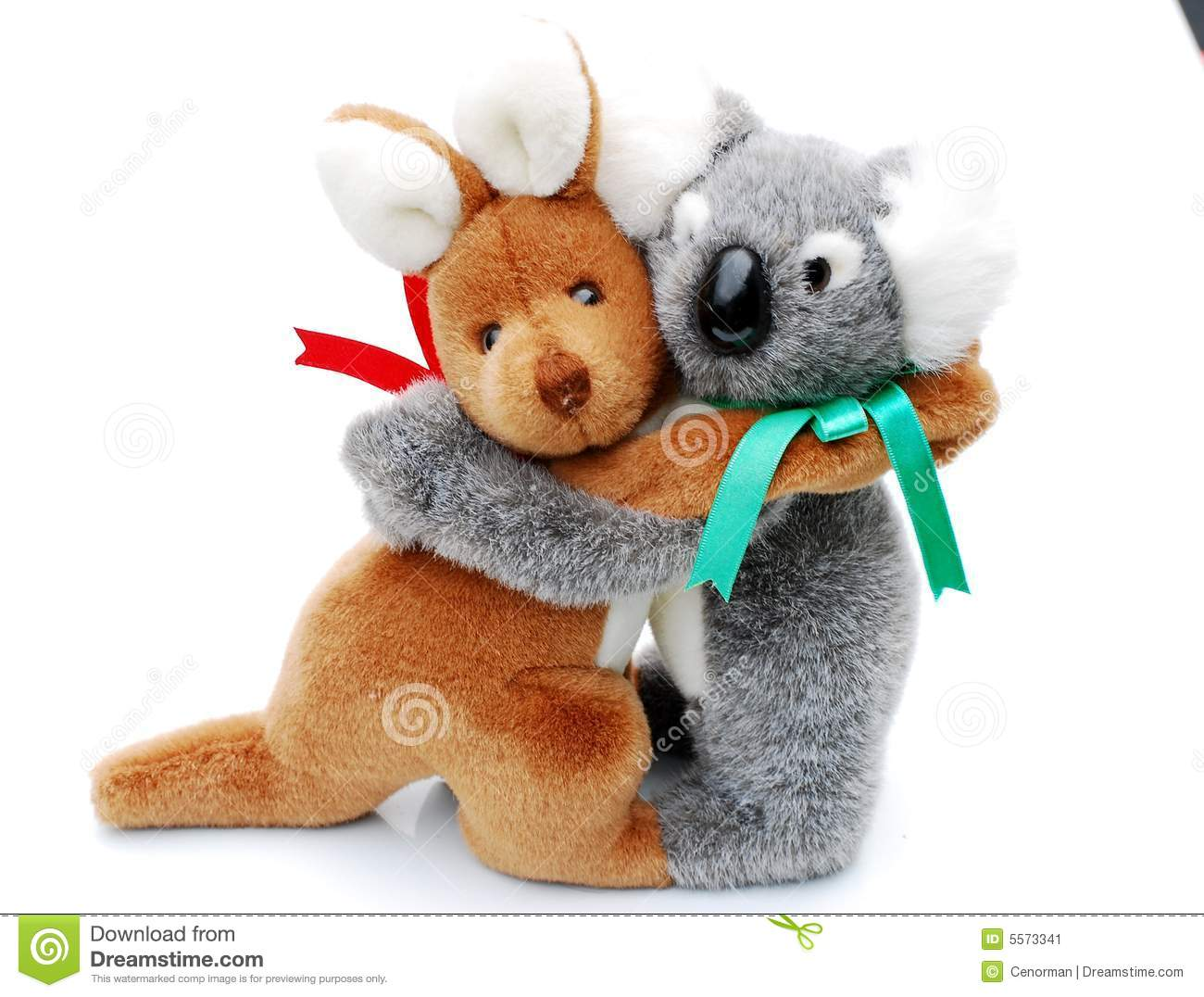 Kangaroo And Koala Stock Image - Image: 5573341