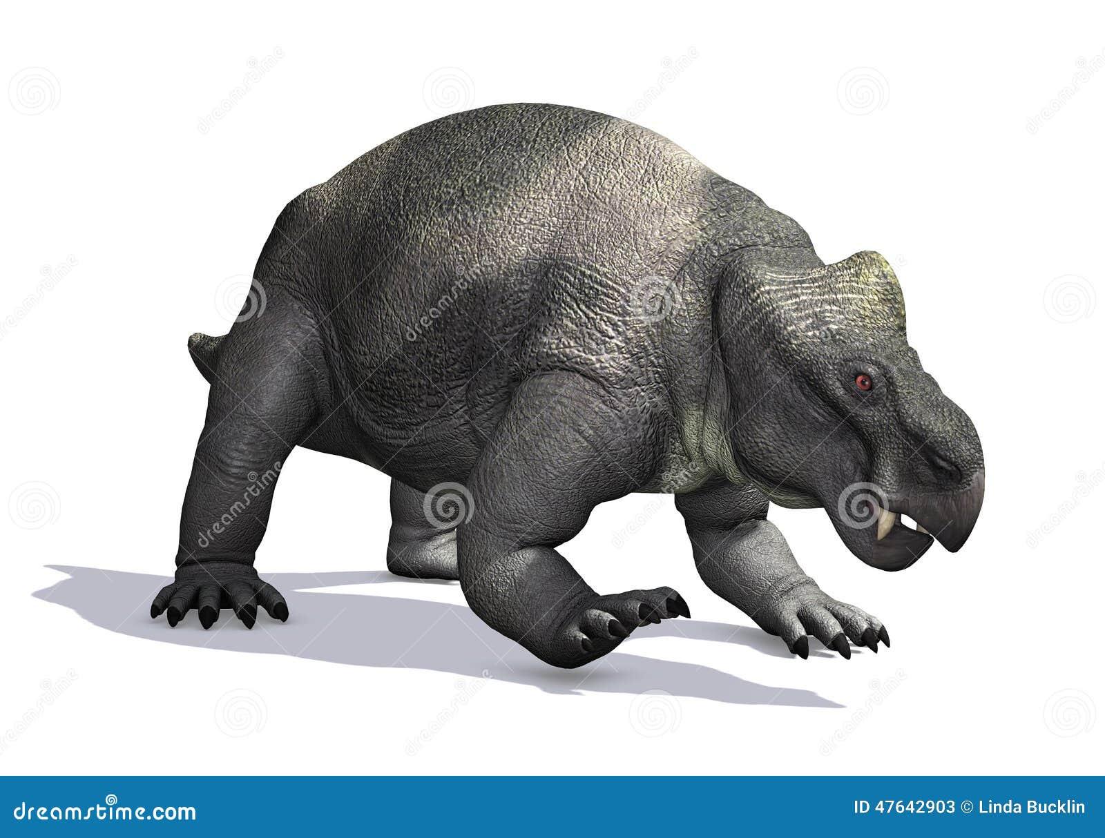 Kannemeyeria prehistórico