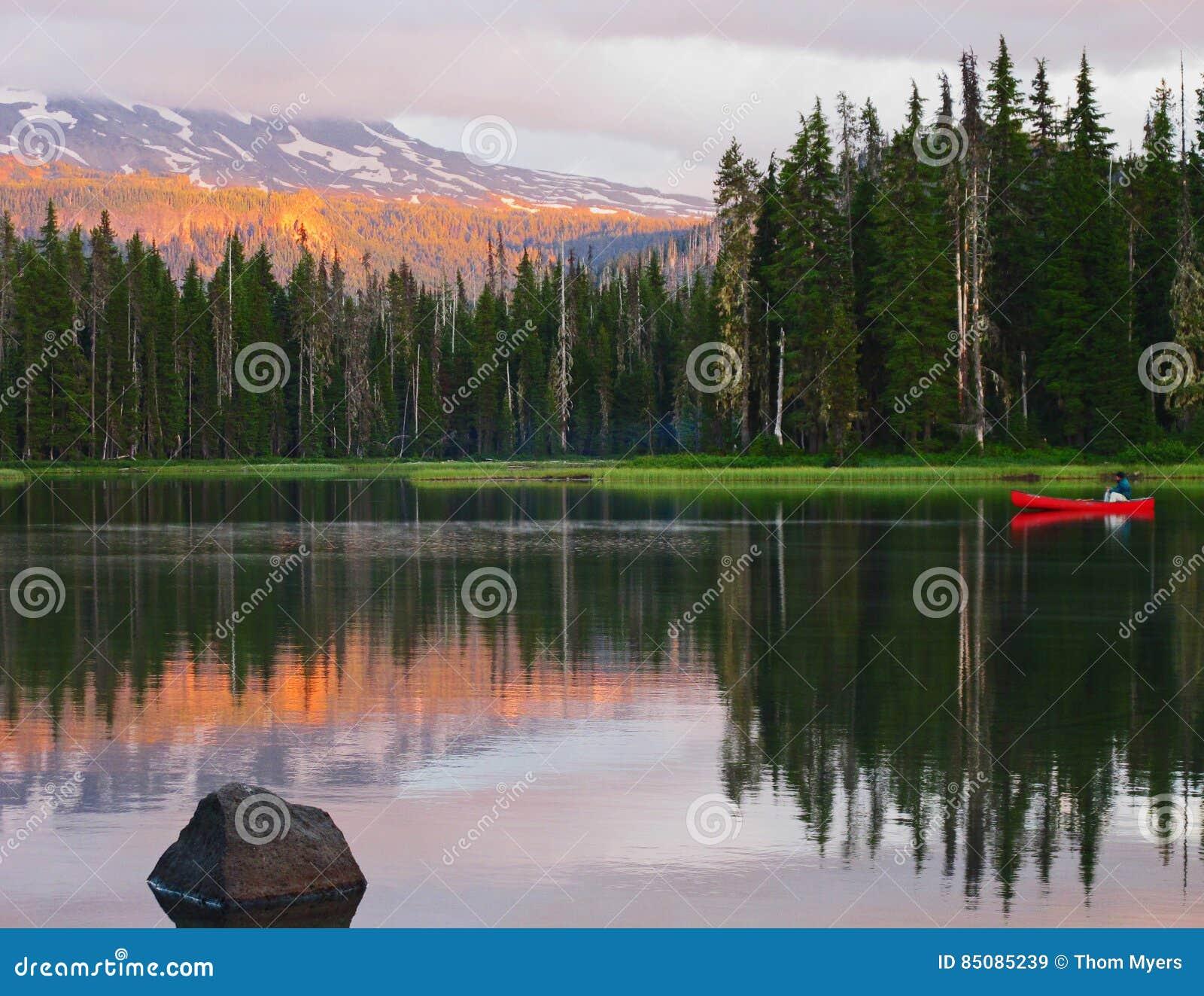 Kano bij Zonsondergang