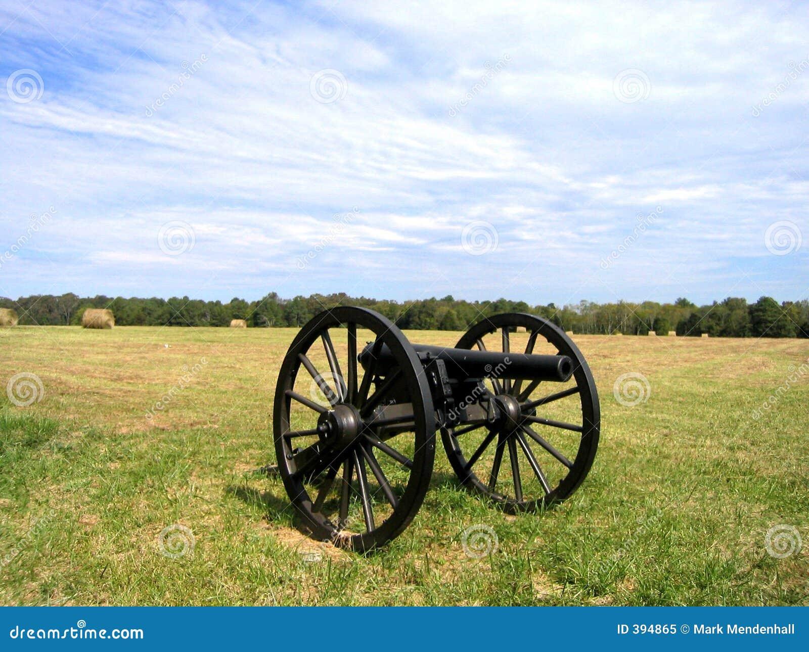 Kanone bei Chickamauga