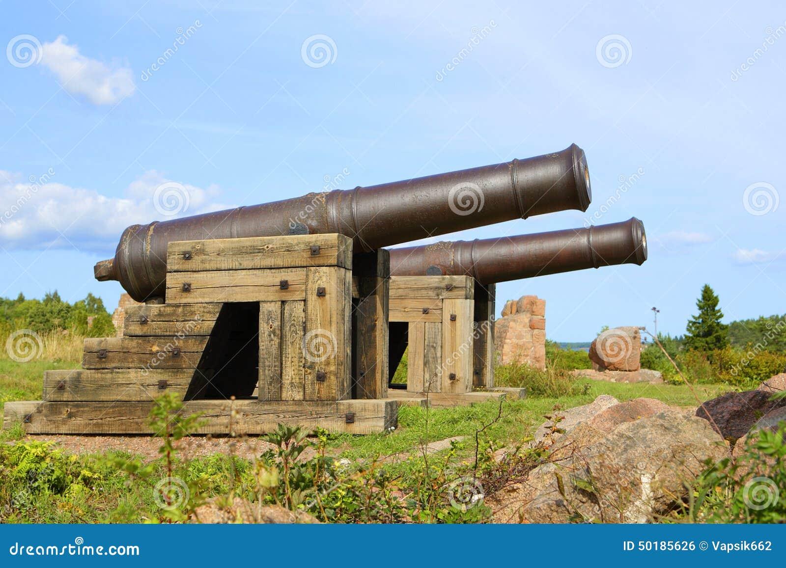 Kanonnen in Aland-Eilanden