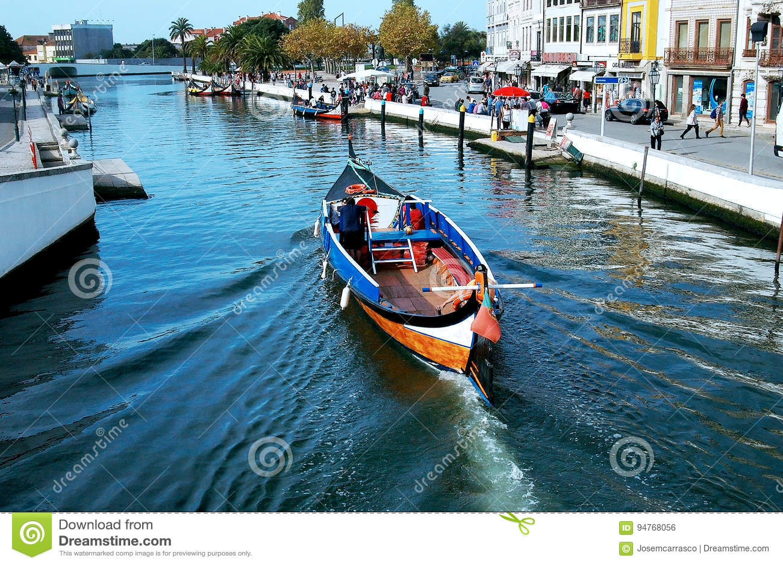 Kanoter i Aveiro, Portugal