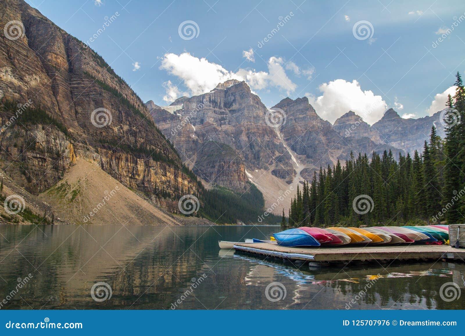 Kanoter på sjömorän, Kanada