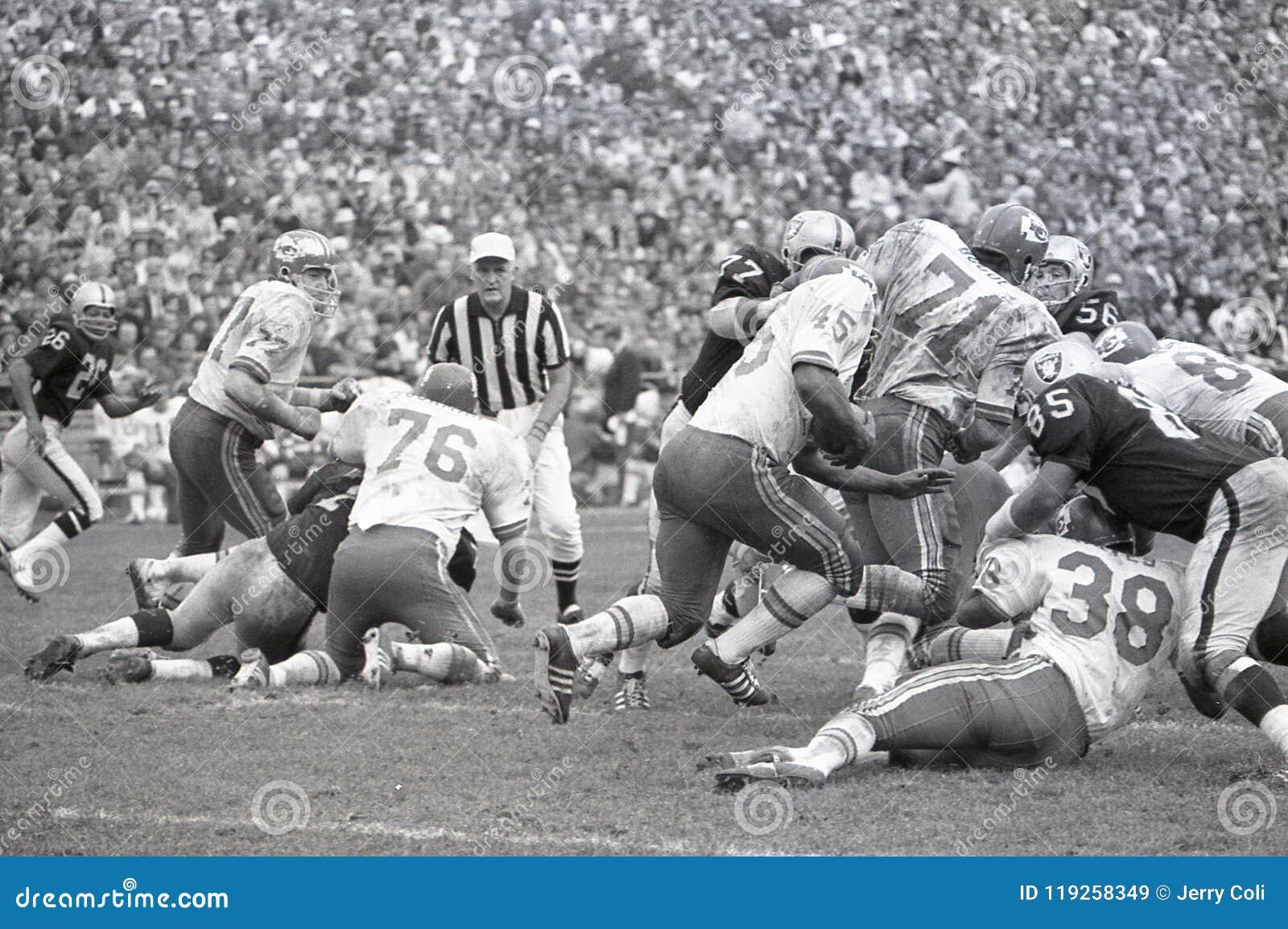 Kansas City Chiefs vs the Oakland Raiders 1969