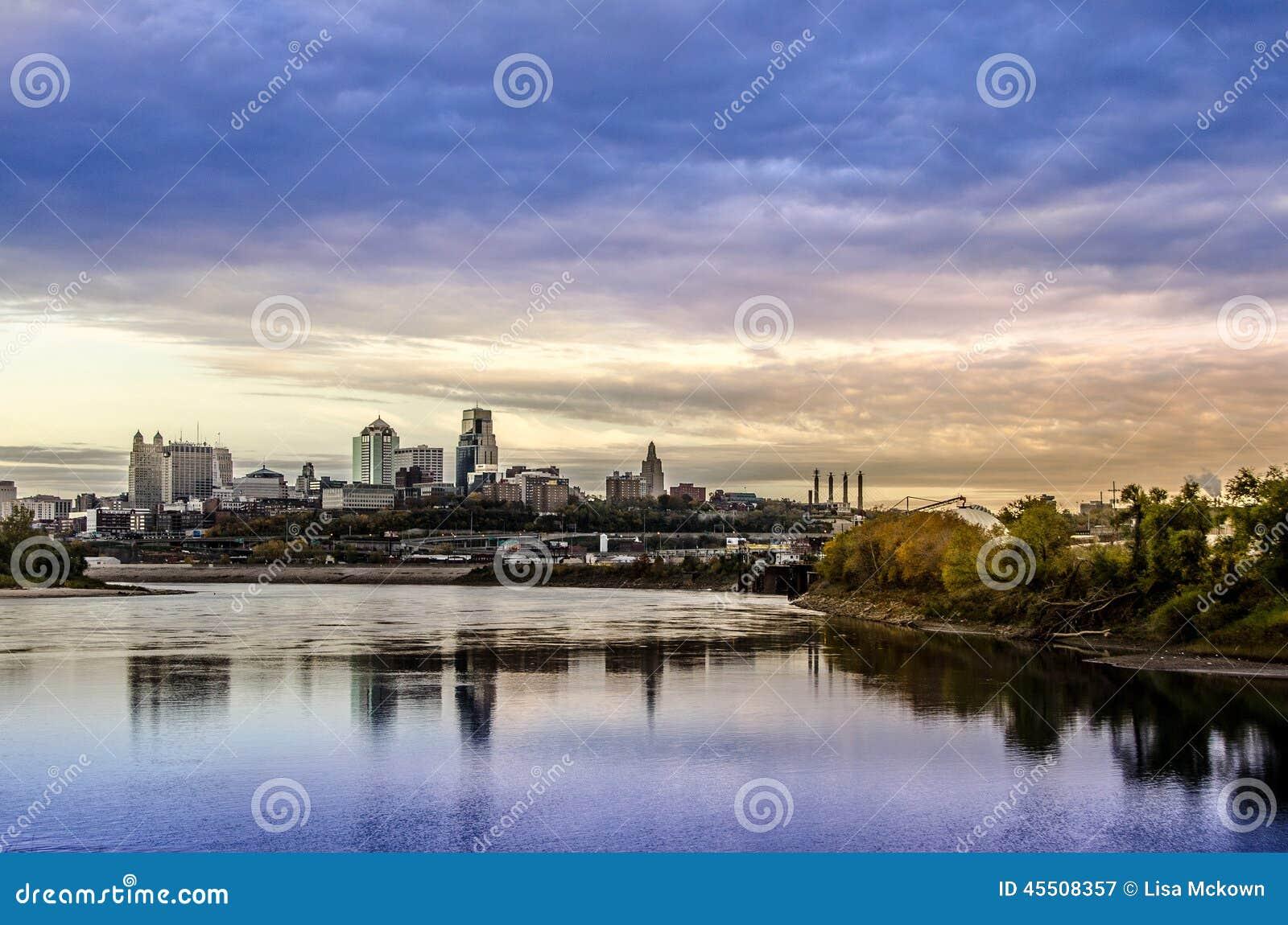 Kansas City Missouri pejzaż miejski