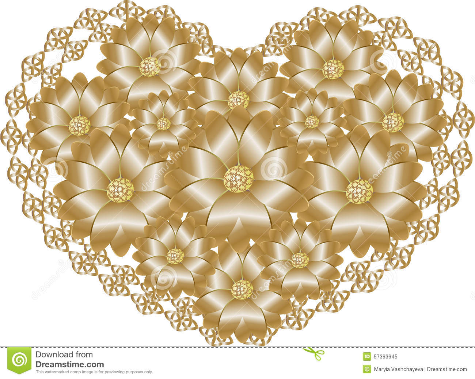 Kant gouden hart
