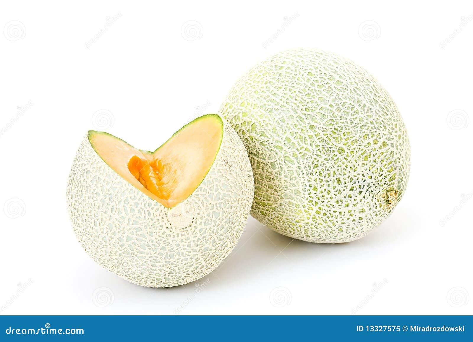 Kantalupa melonu pomarańcze