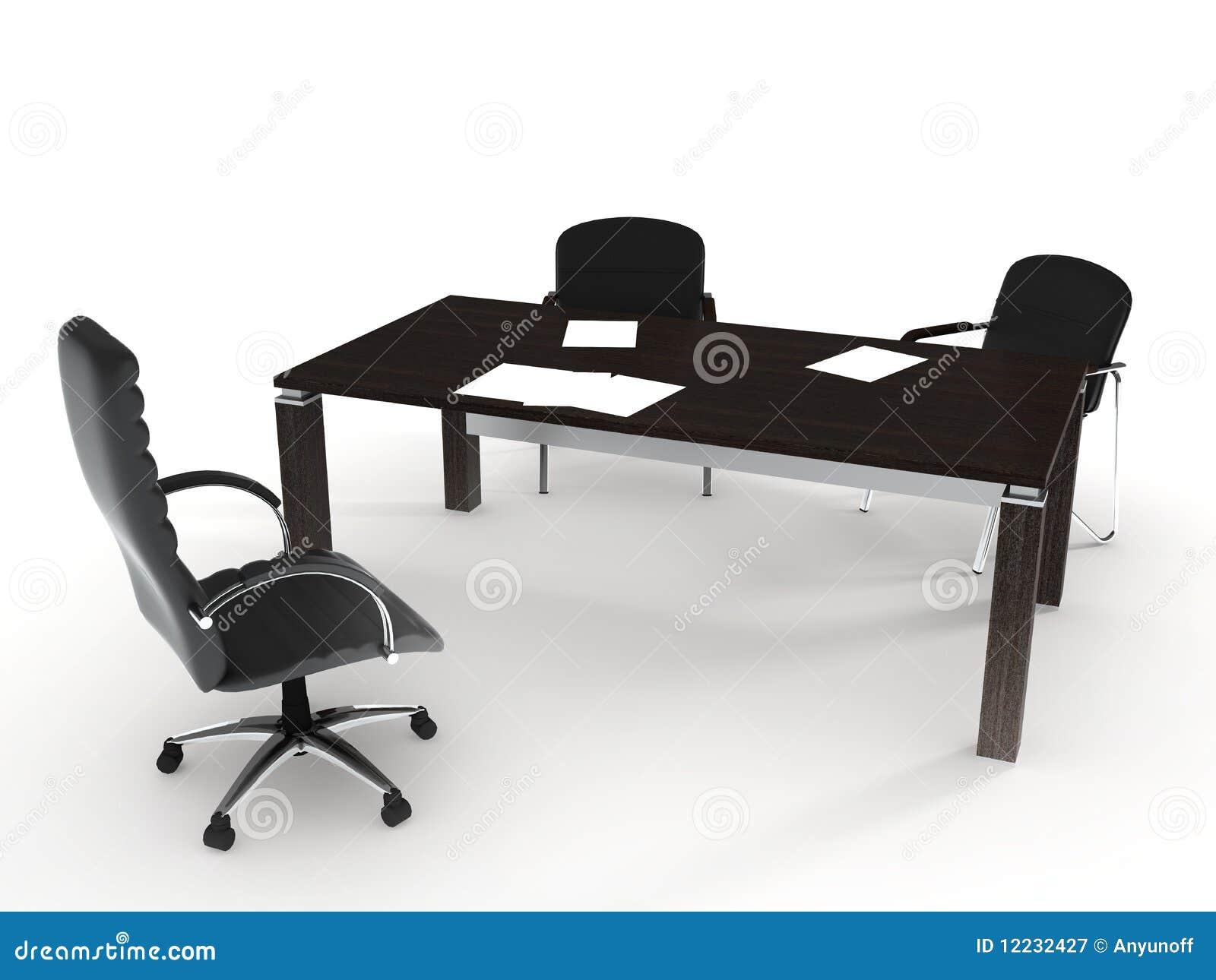 kantoormeubilair royalty vrije stock fotografie afbeelding 12232427