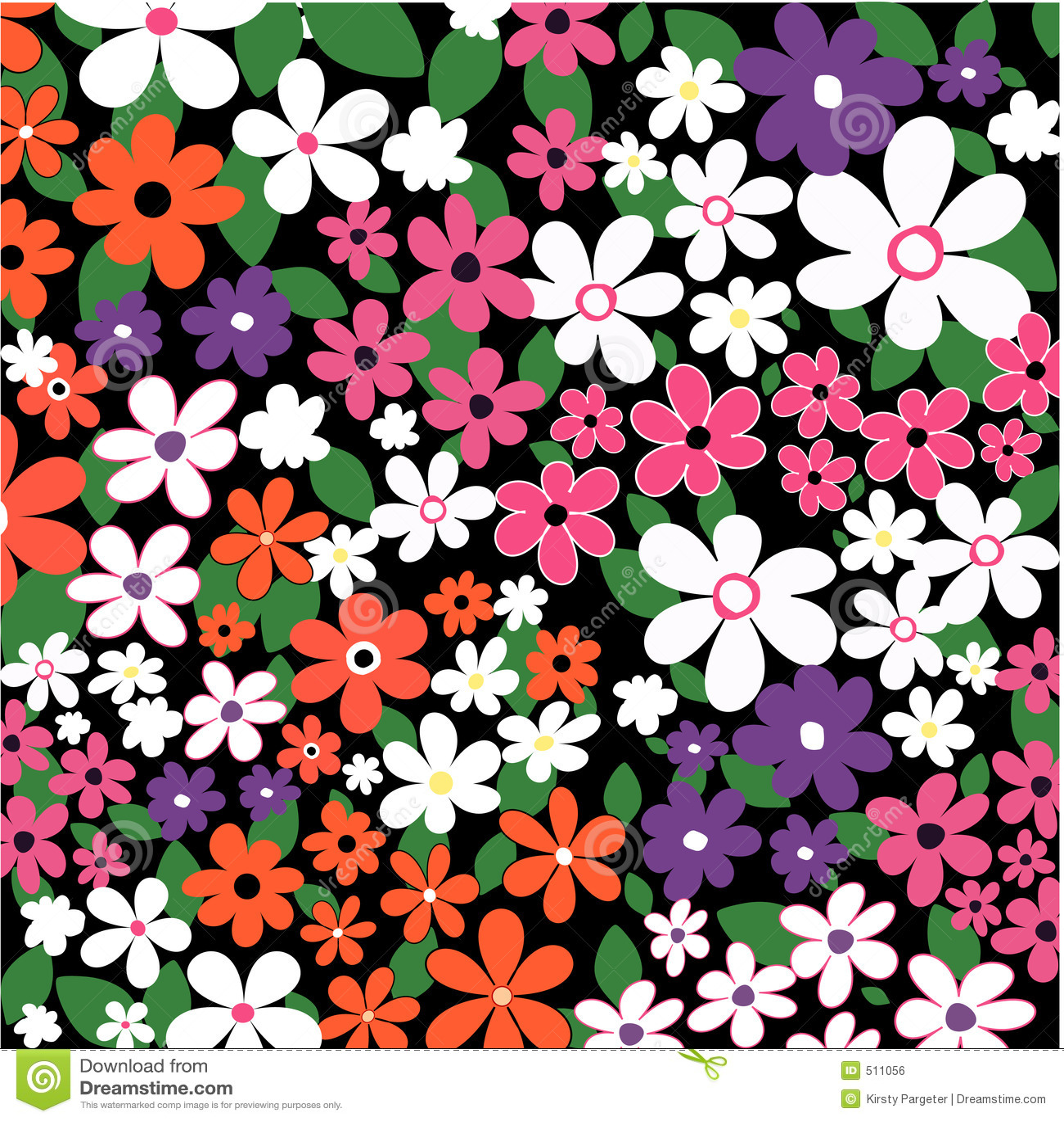 Kaotiska blommor