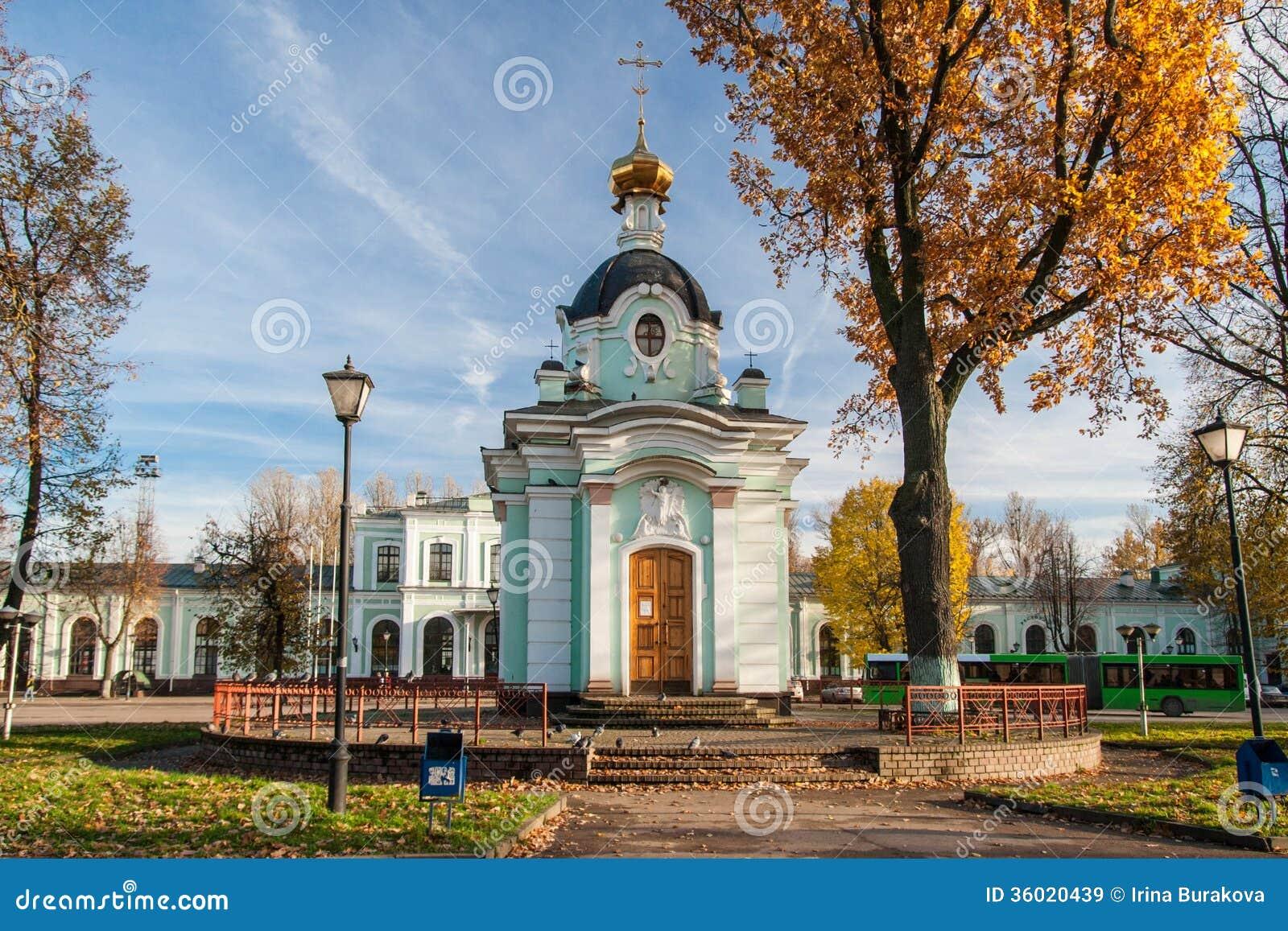 Kapel. Pskov. Rusland.