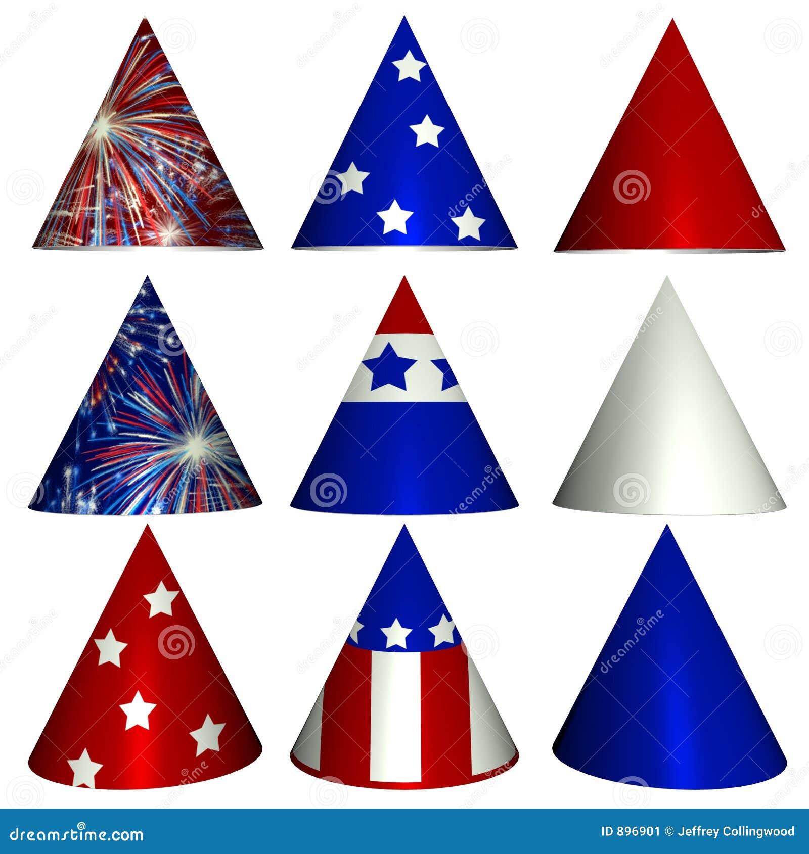 Kapelusze, patriotycznego