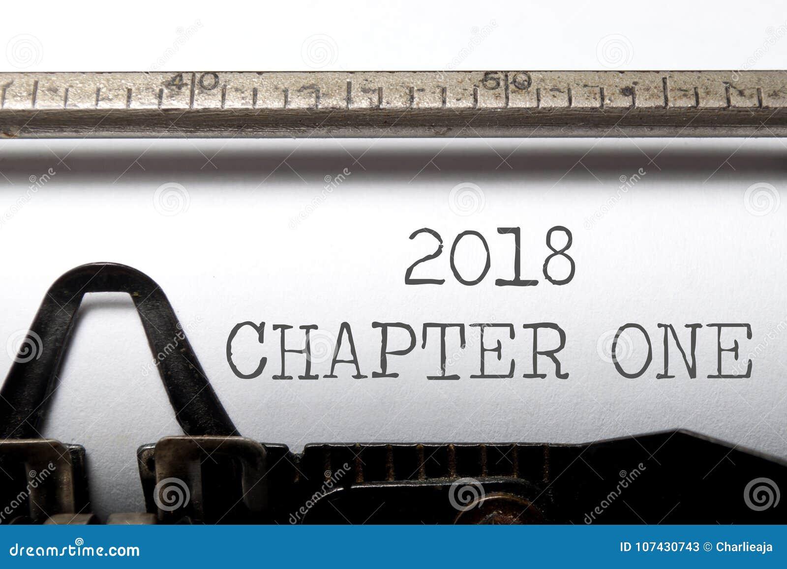 Kapitel 2018 ett
