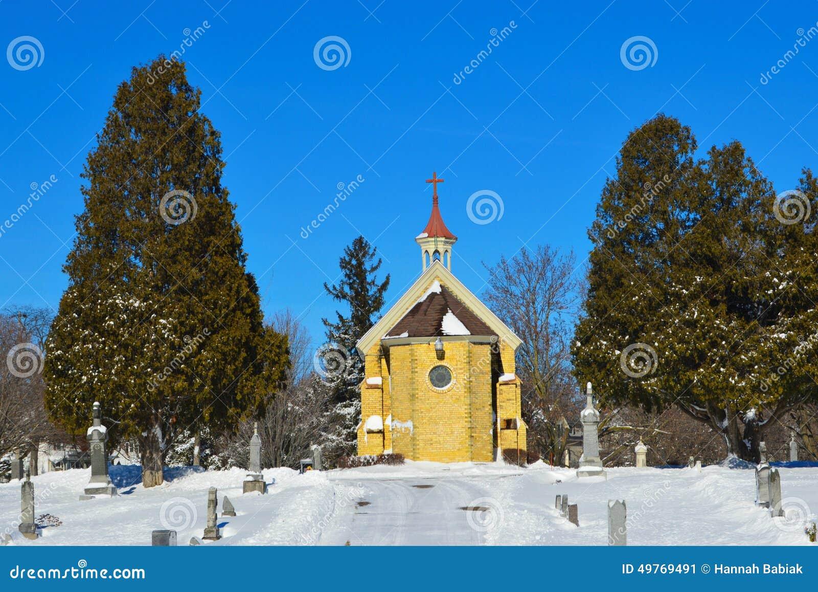 Kaplica w cmentarzu