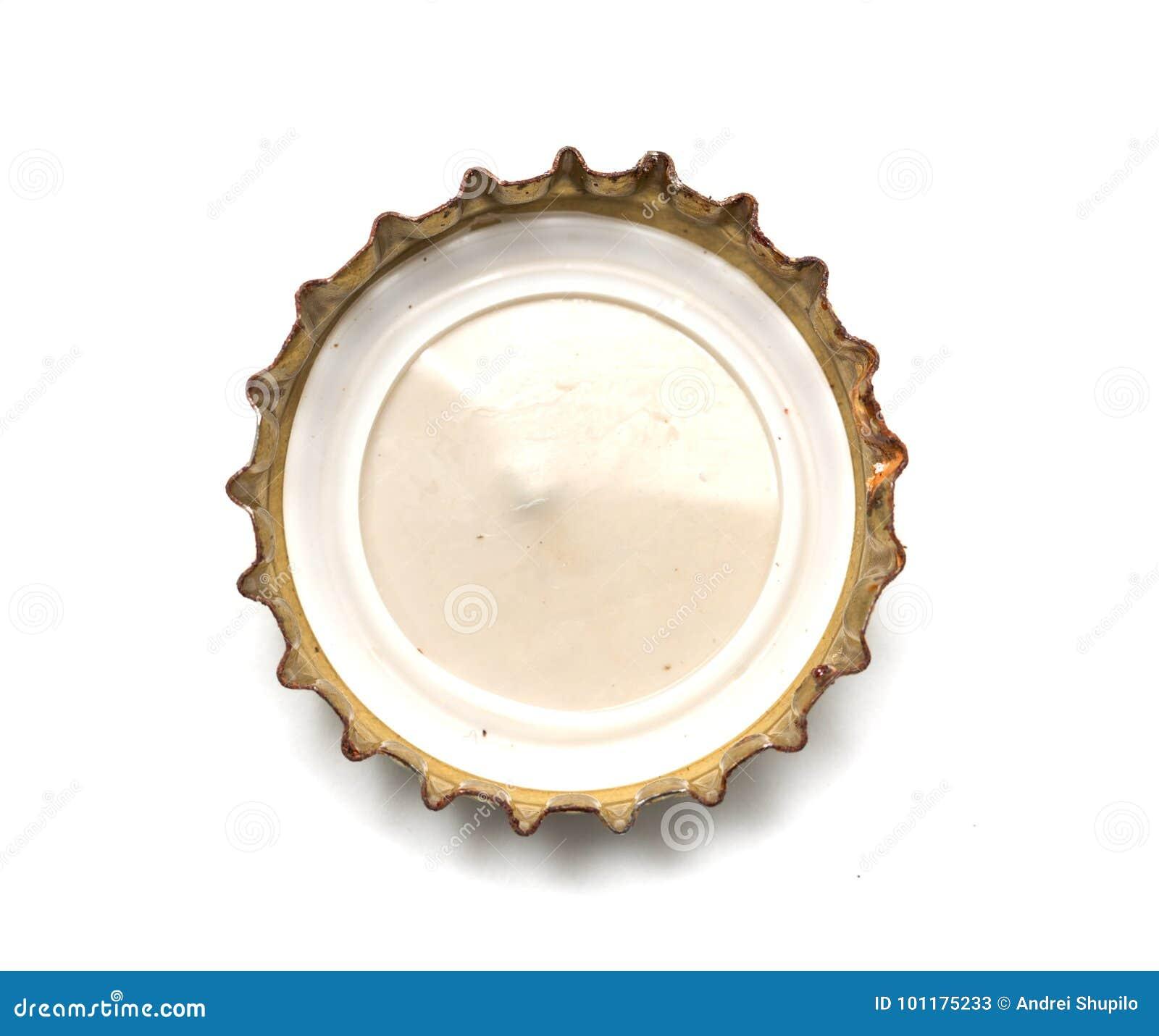 Kapsyl med ett öl Makro