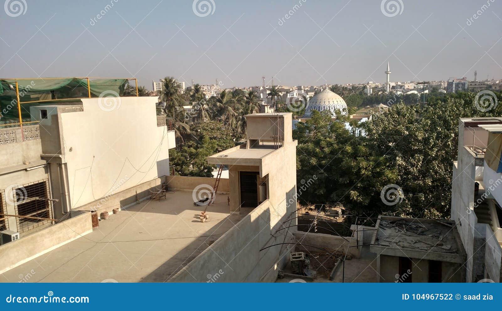 Karachi stock photo  Image of area, street, muslim, nation