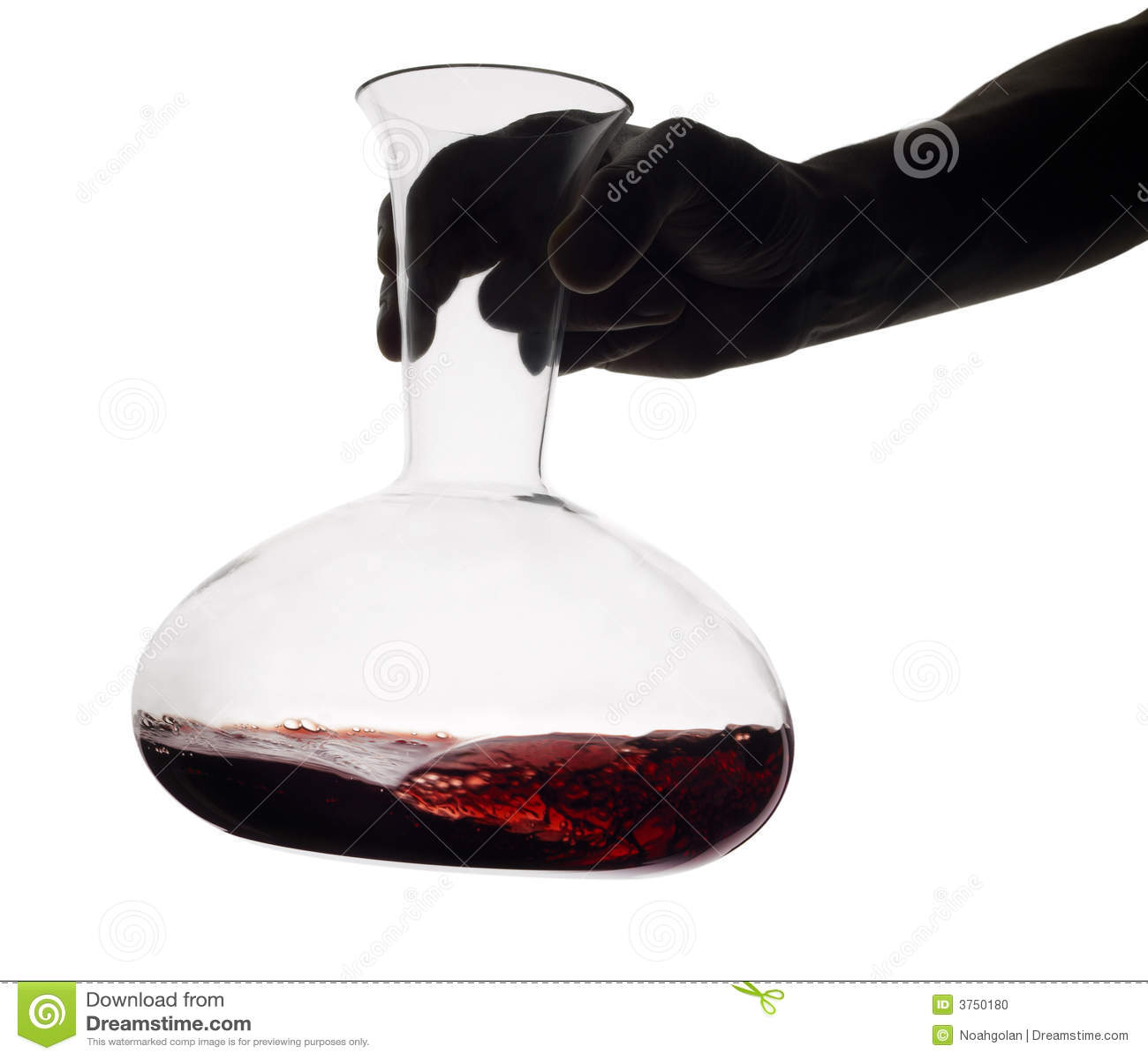 Karaffrött vin