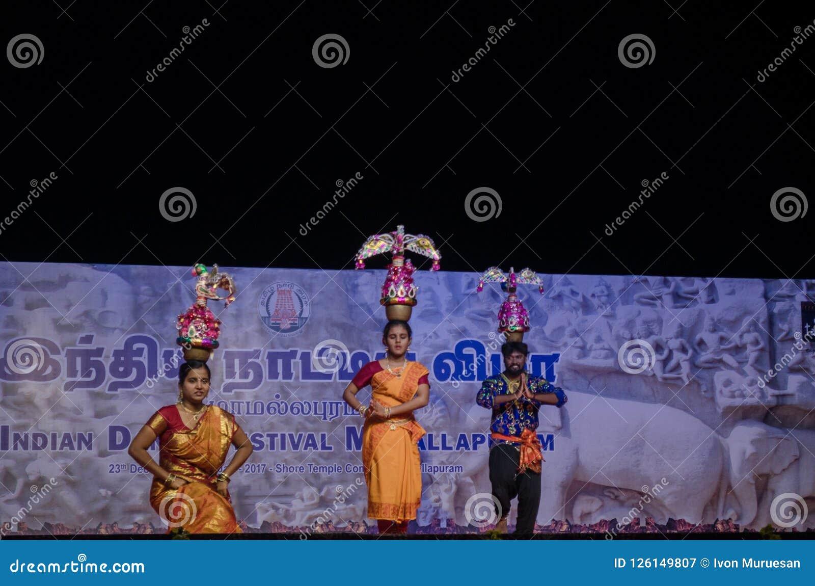 Indian Dance Festival, Mamallapuram 2016-17
