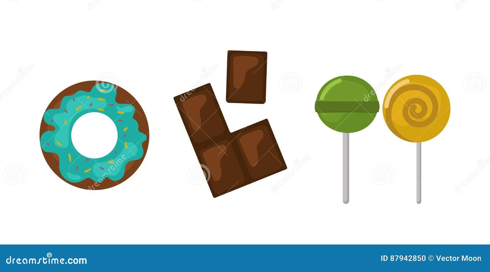 Karamell för godis för ferie för kaka för choklad för design och för mellanmål för klubba för konfekt för socker för efterrätt fö