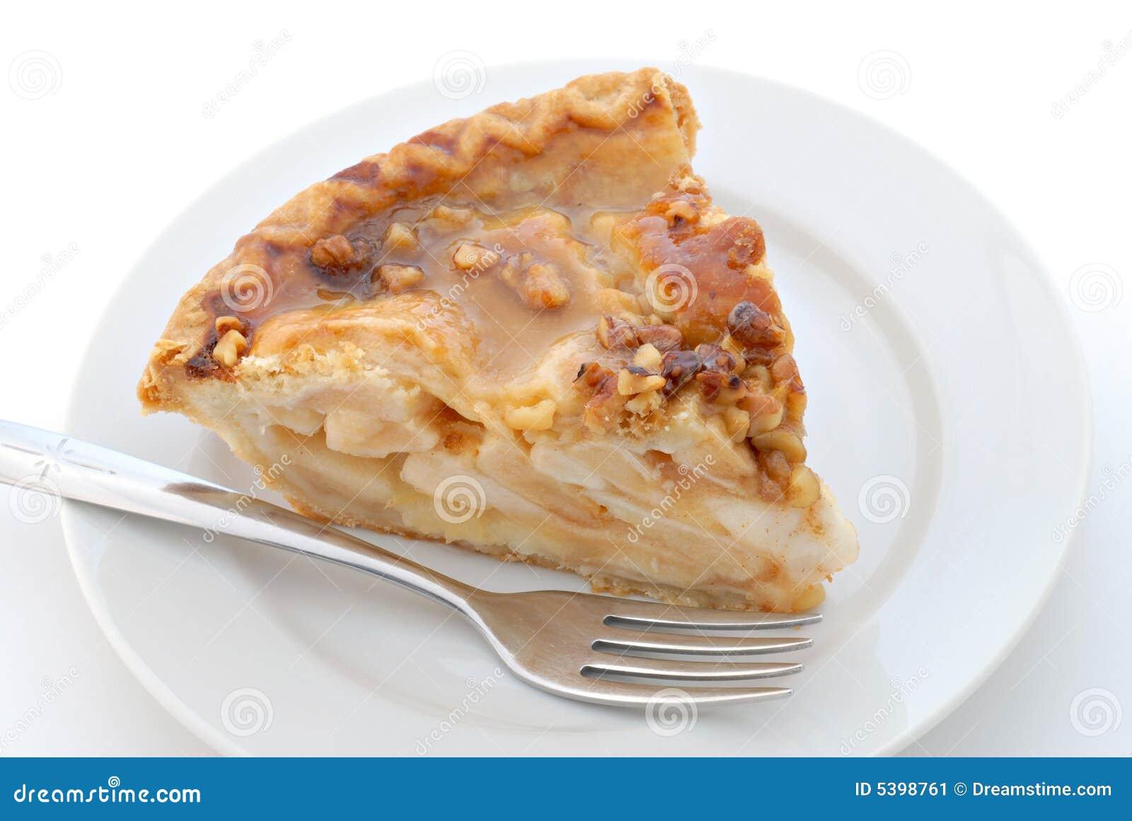 Karamell-Pekannuss-Apfelkuchen
