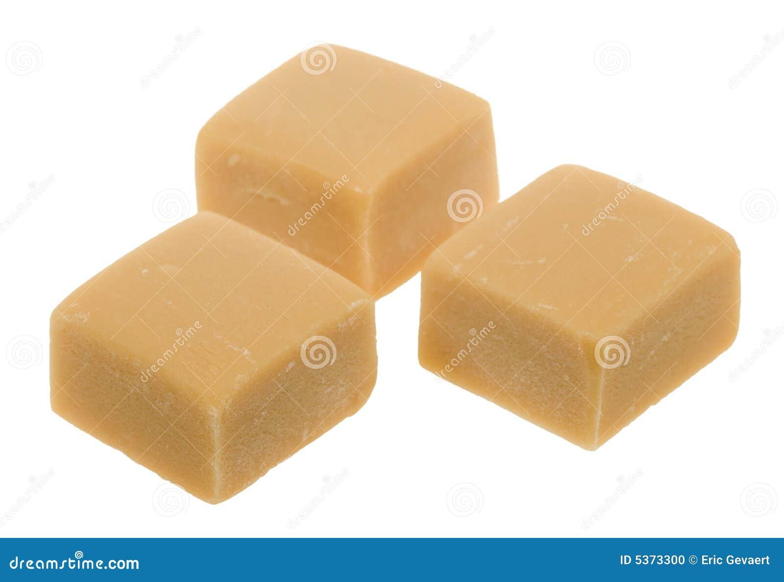 Karamelltoffeesüßigkeit