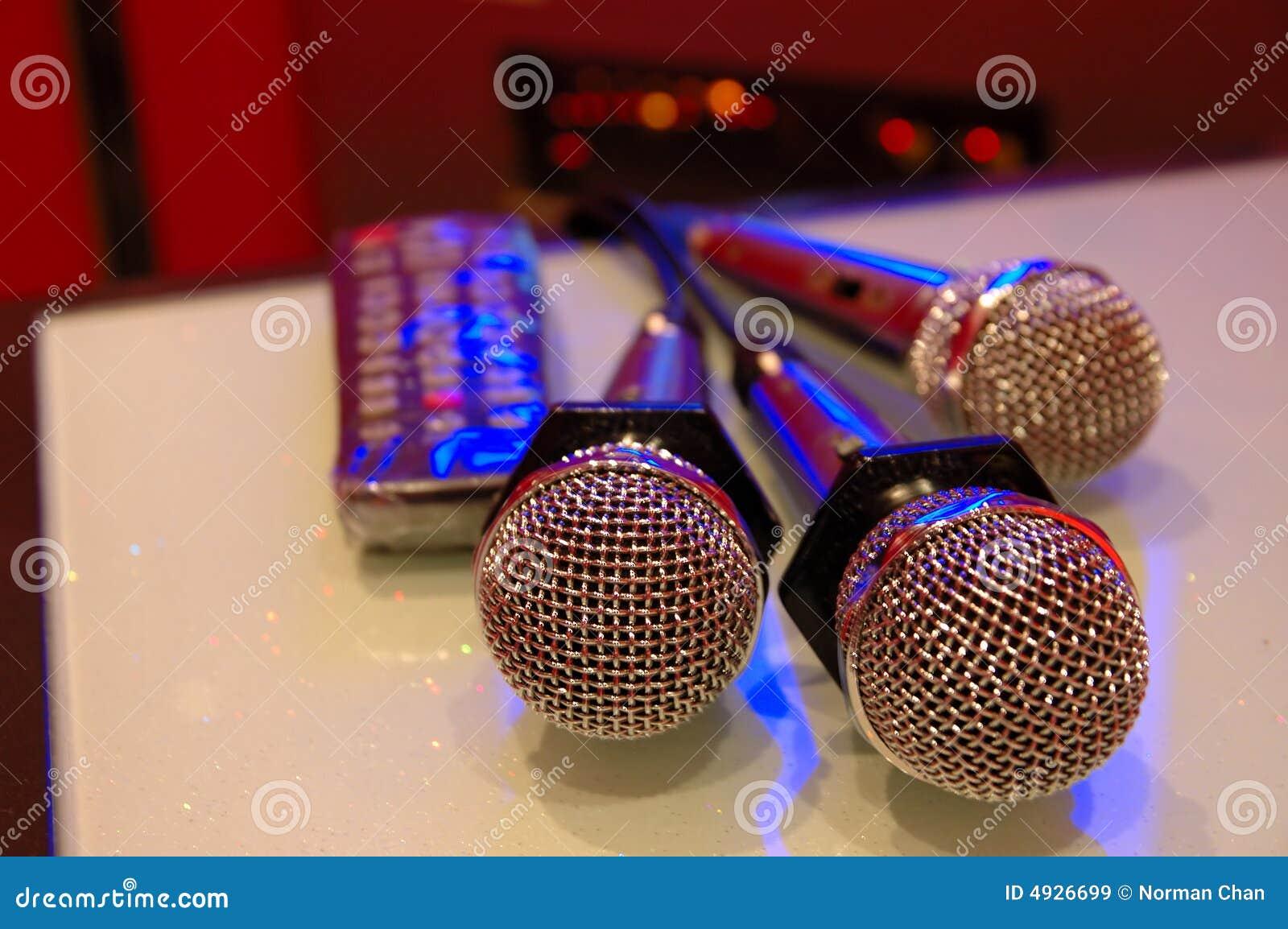 Karaoke μικρόφωνα