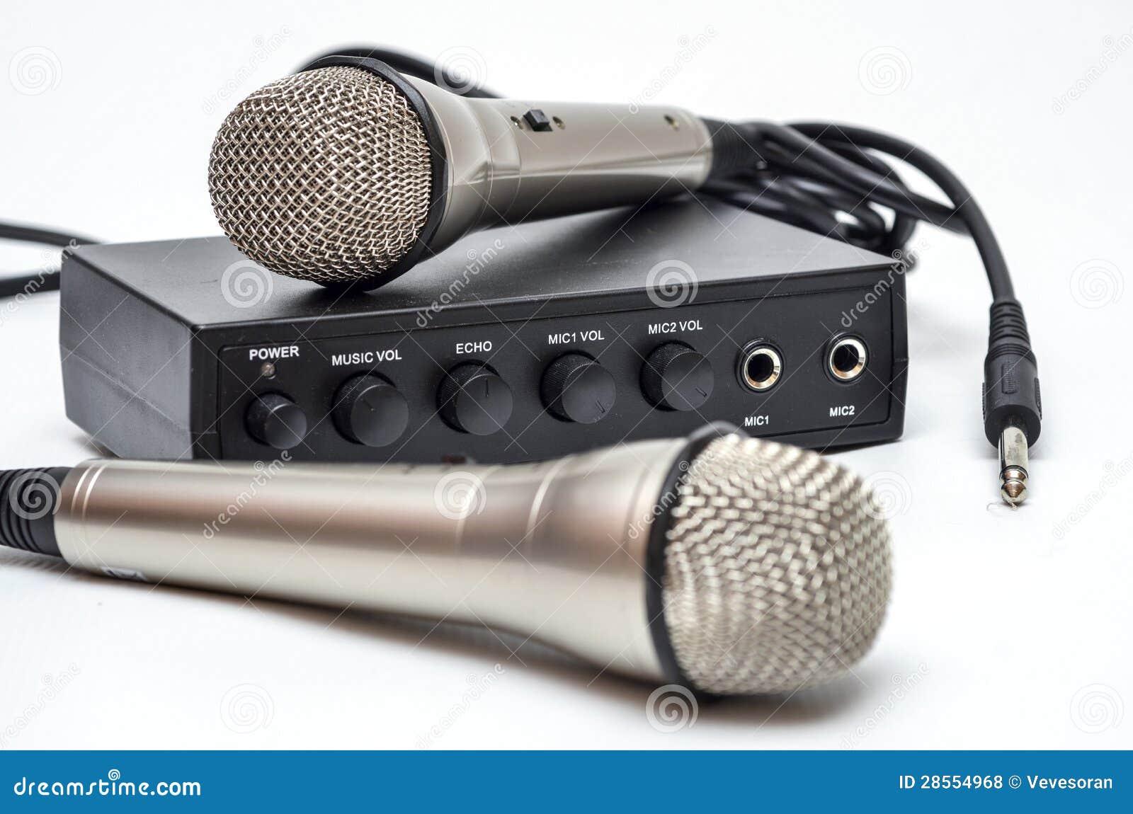Karaoke Set Royalty Free Stock Photos - Image: 28554968