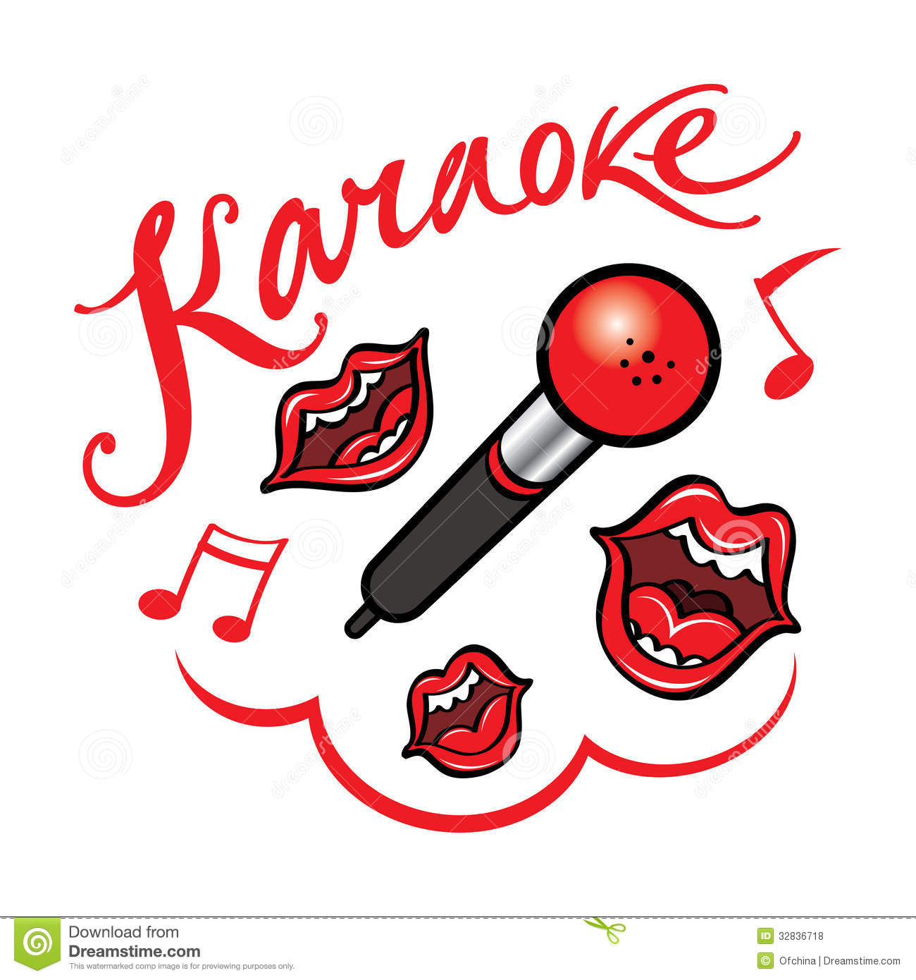 Karaoke Royalty Free Stock Photos - Image: 32836718