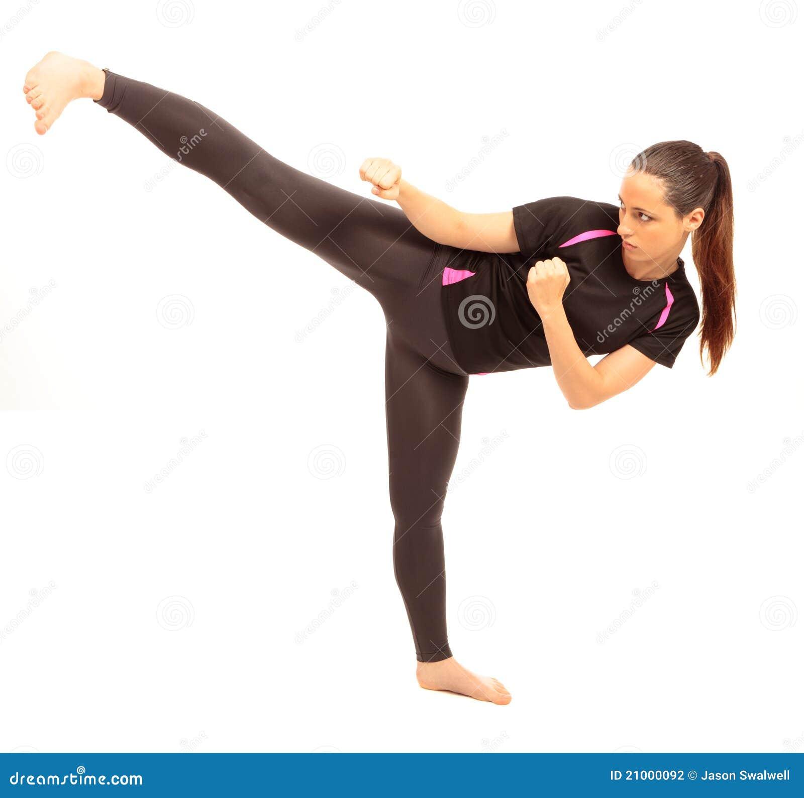 Karate λάκτισμα