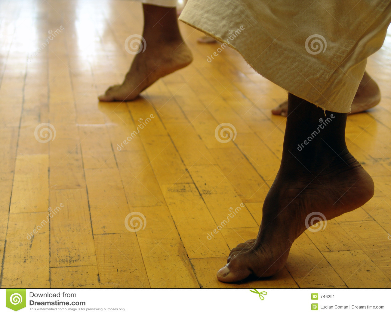 Feet karate Hotfighters