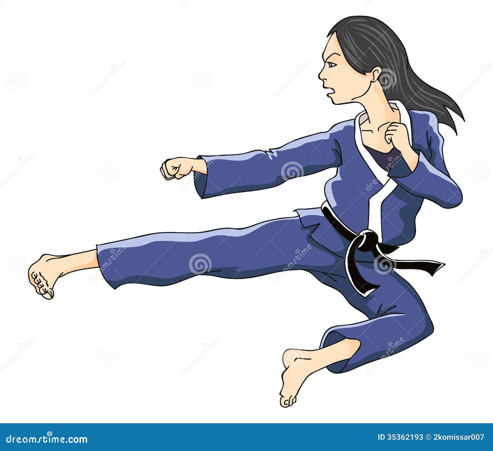 Karate Girl Stock Photos - Image: 35362193