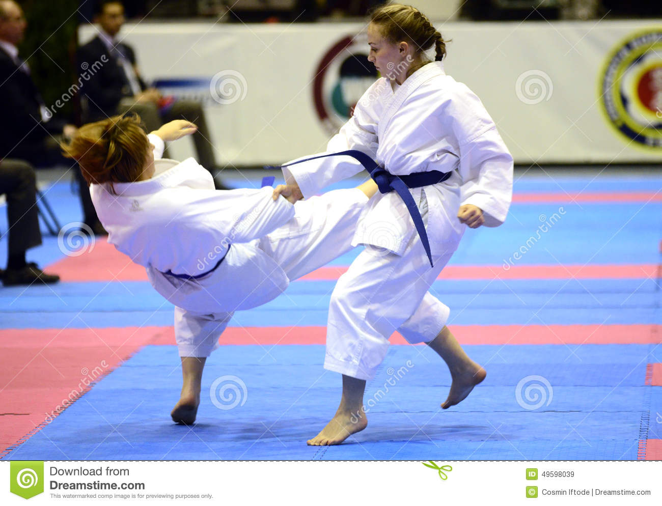 girl karate fight