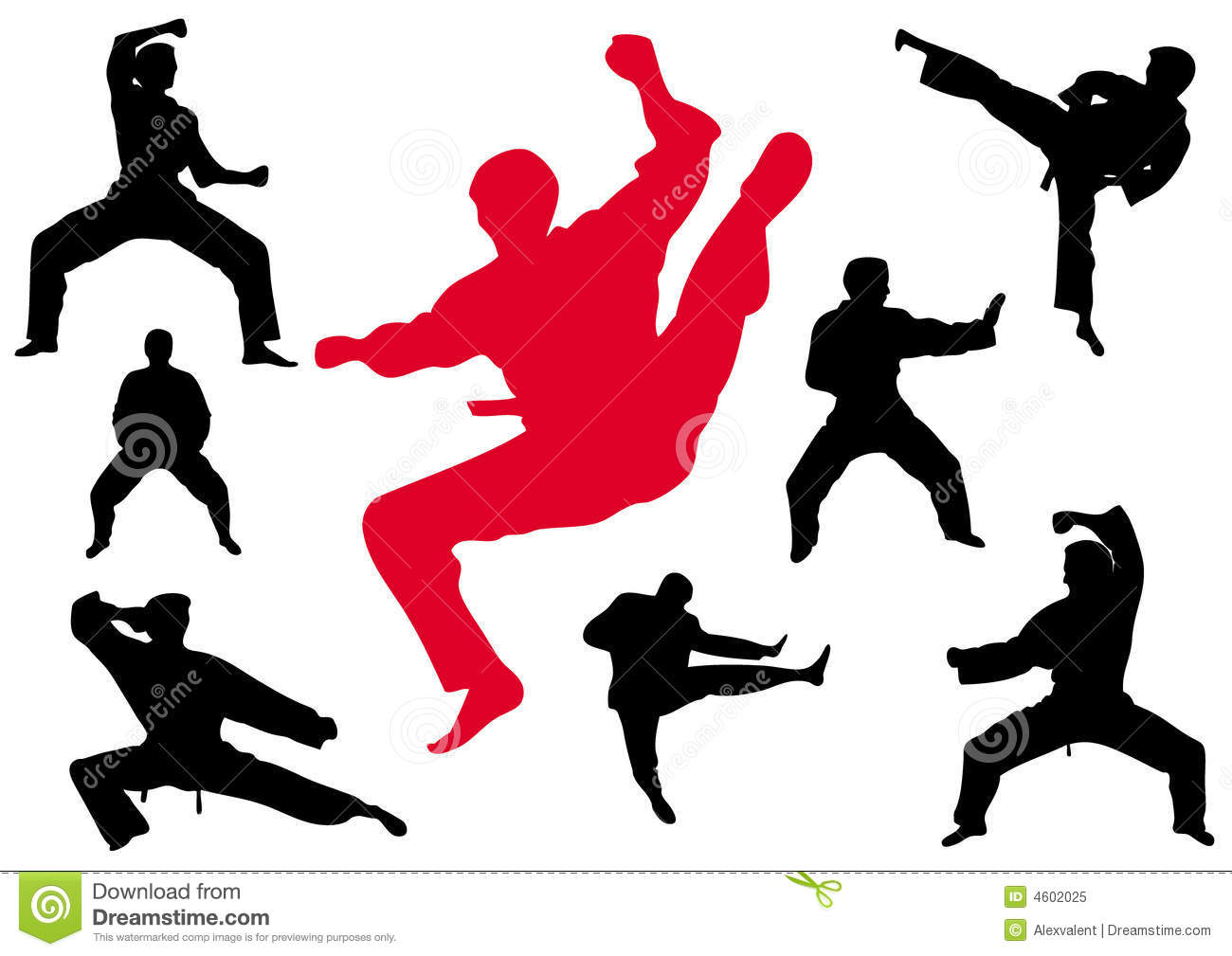Karate Kungfu Royalty Free Stock Photo - Image: 4602025
