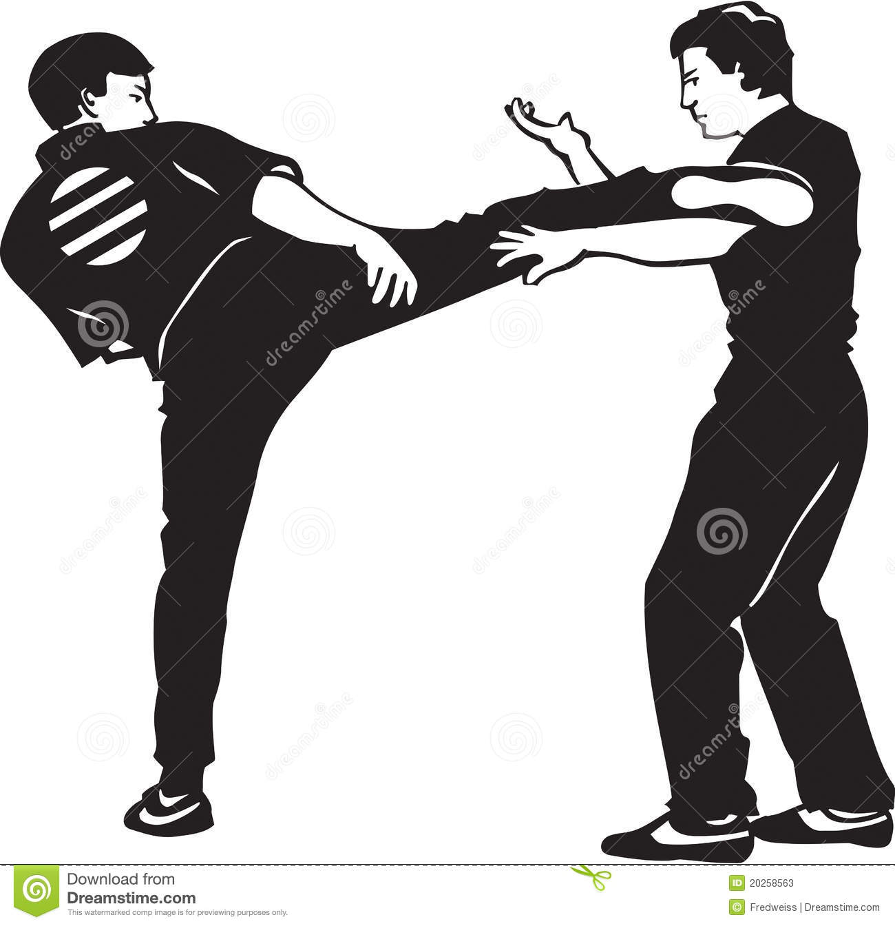match point martial arts sports line
