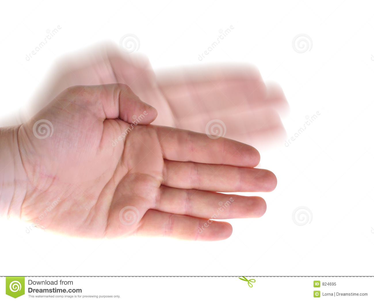 Karate Wave Hand Royalty Free Stock Photo - Image: 824695