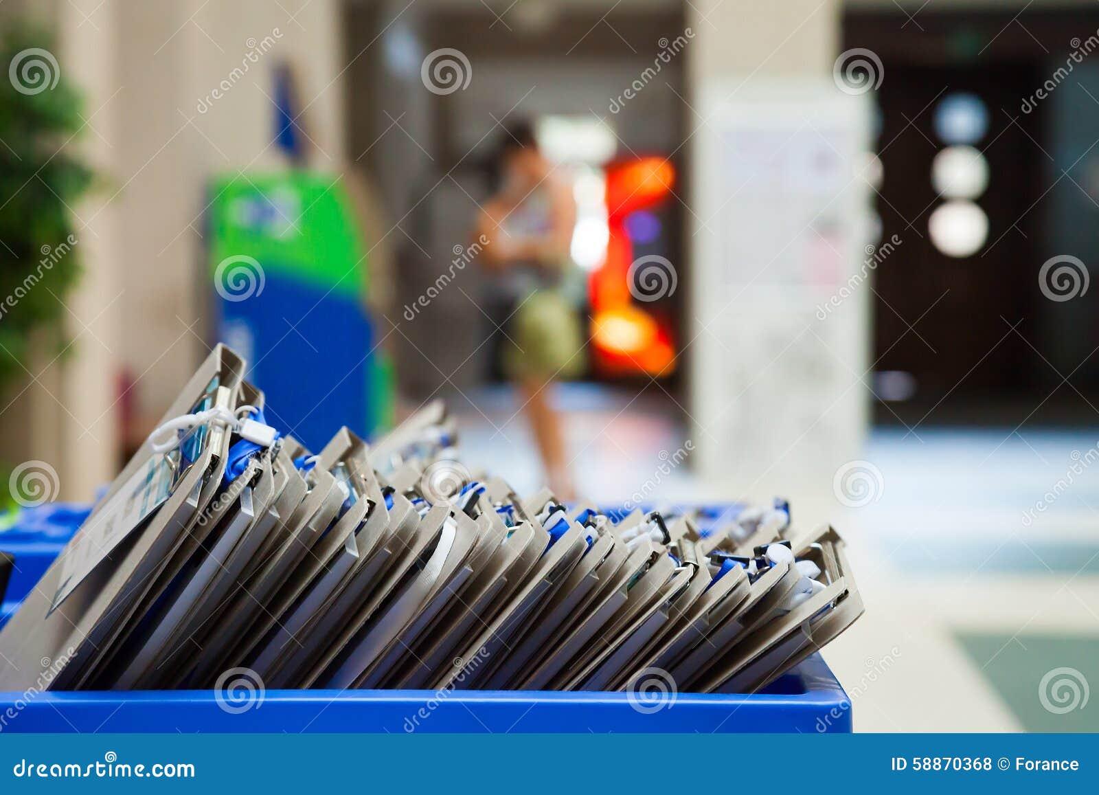 Karciana kartoteka w Błękitnym Plastikowym pudełku