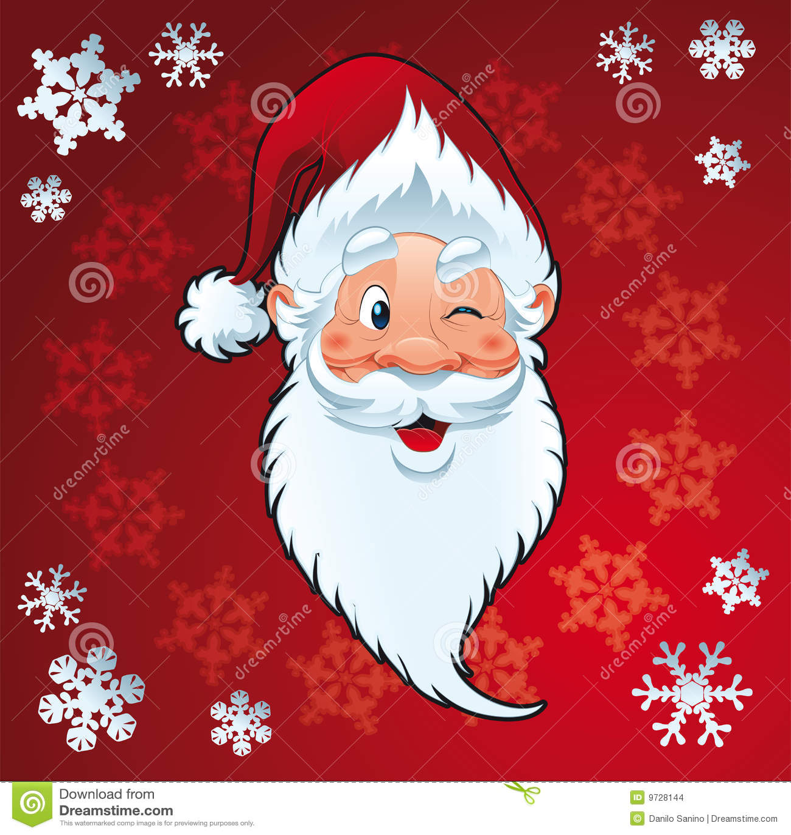 Karciani boże narodzenia Claus Santa