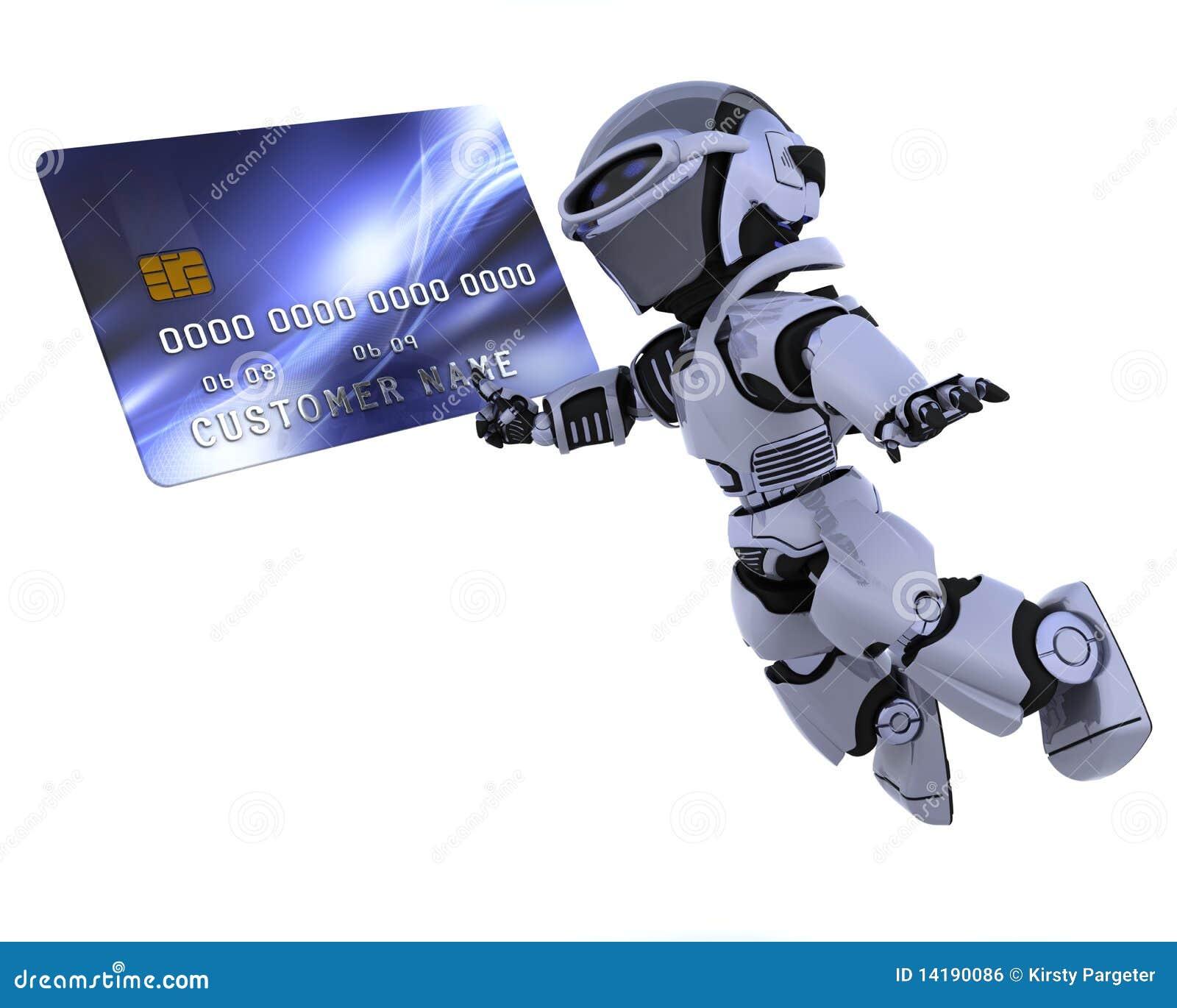 Karciany kredytowy robot
